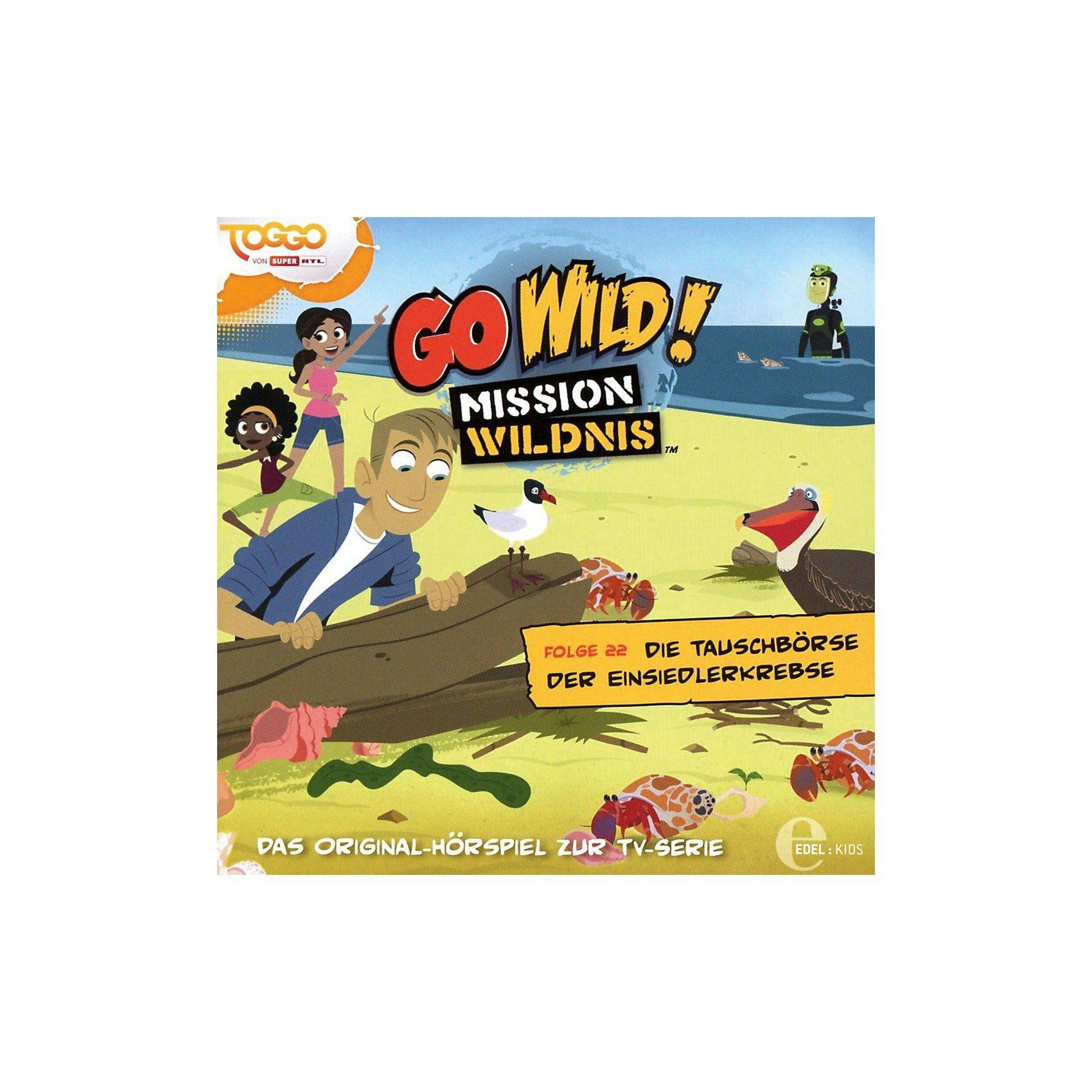 Edel CD Go Wild Mission Wildnis 22 - Die Tauschbörse der Einsiedl