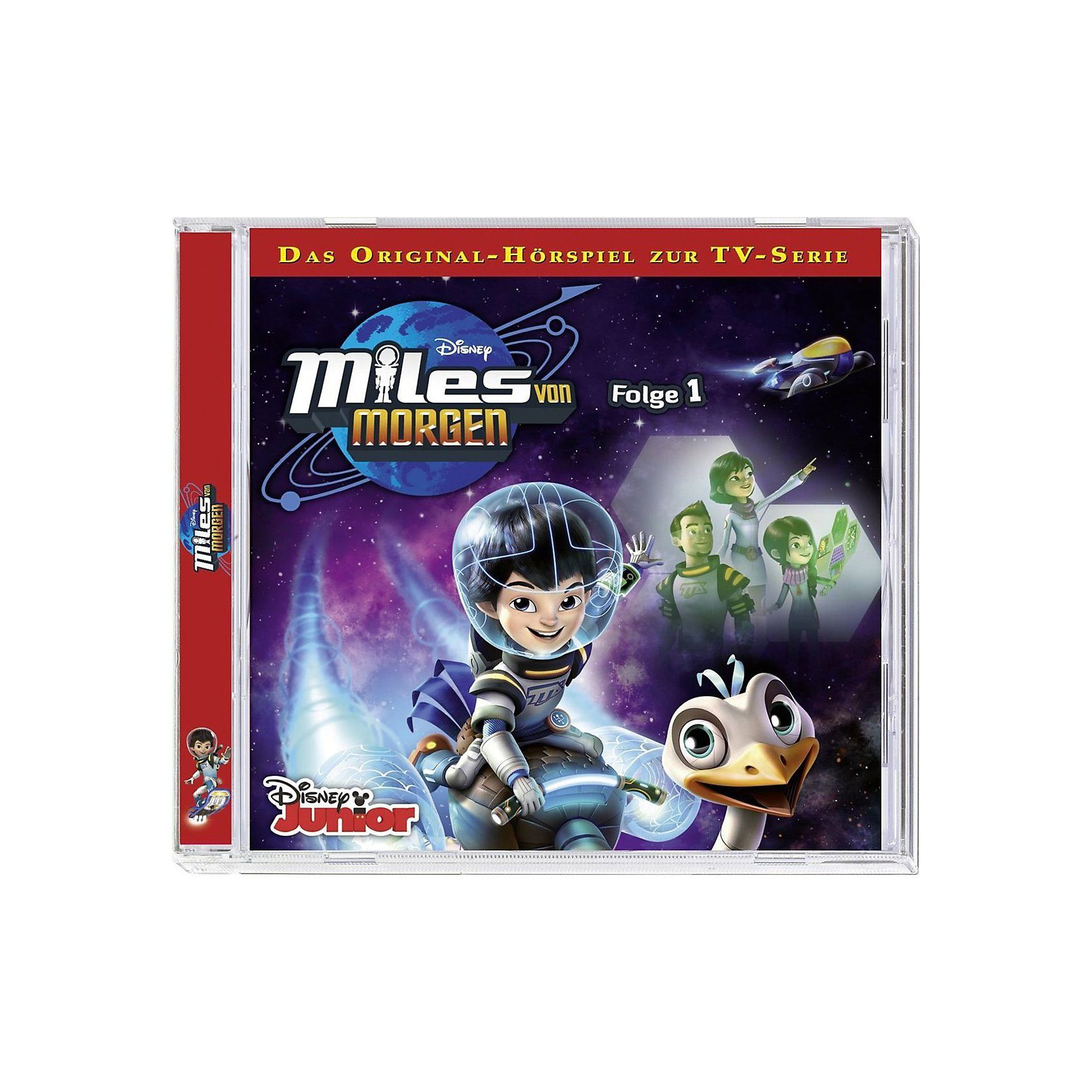 Kiddinx CD Disney Miles von Morgen 01
