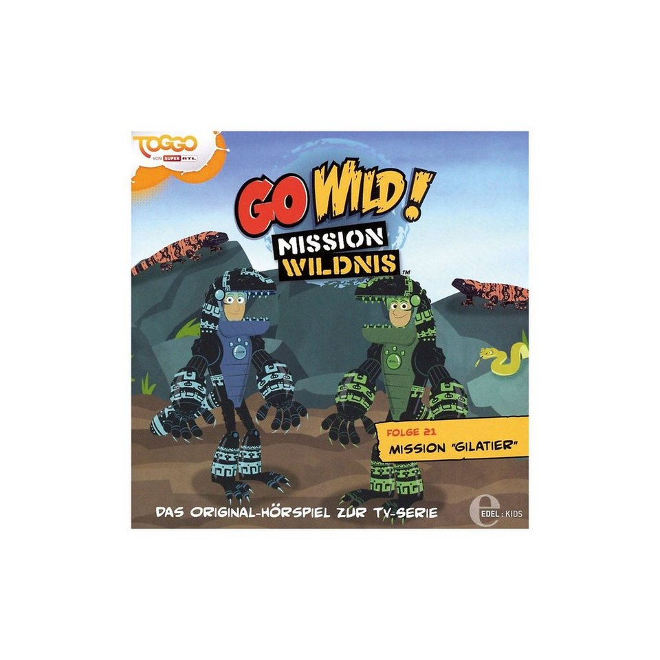 Edel CD Go Wild Mission Wildnis 21 - Mission Gilatier online kaufen