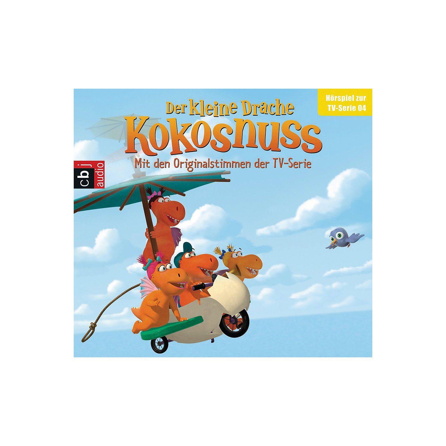 Edel Der Kleine Drache Kokosnuss - Hörspiel zur TV-Serie, Tl. 4