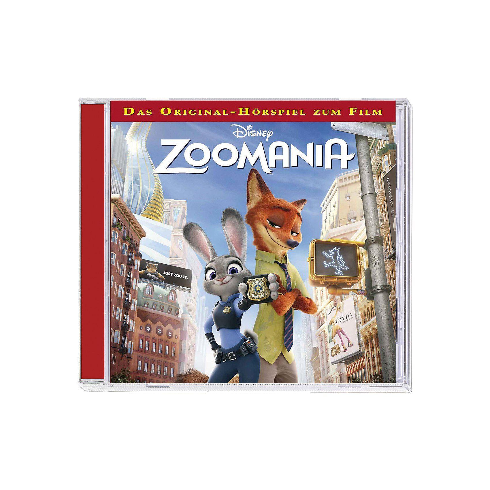 Kiddinx CD Disney Zoomania (Hörspiel zum Kinofilm)