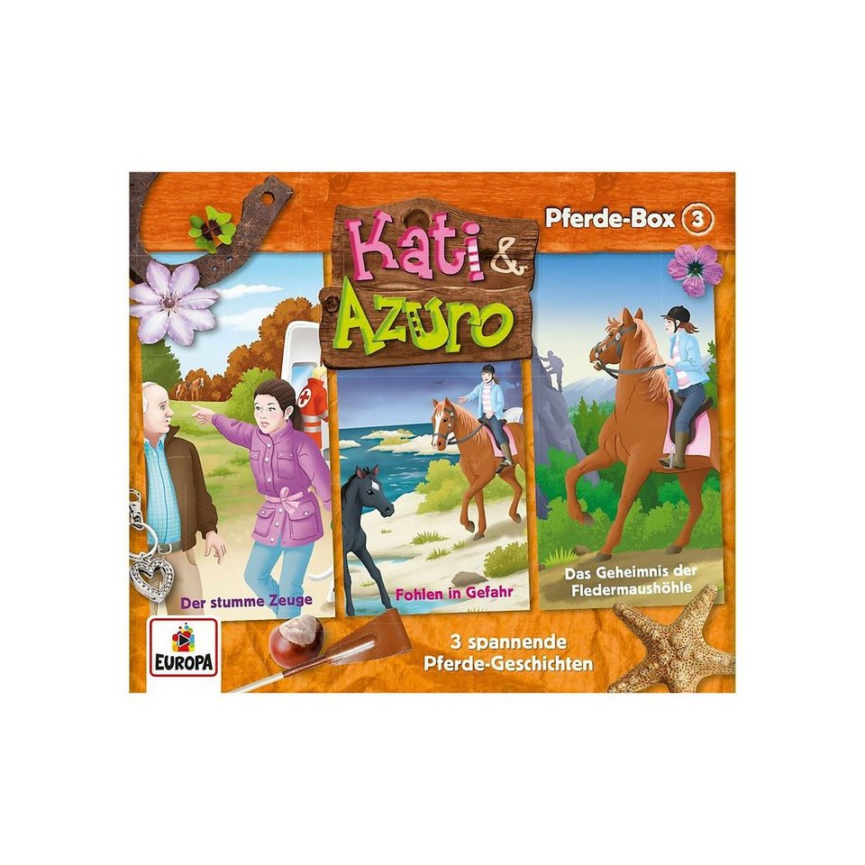 Sony CD Kati & Azuro 3 - 3er CD-Box (Folgen 7,8,9)