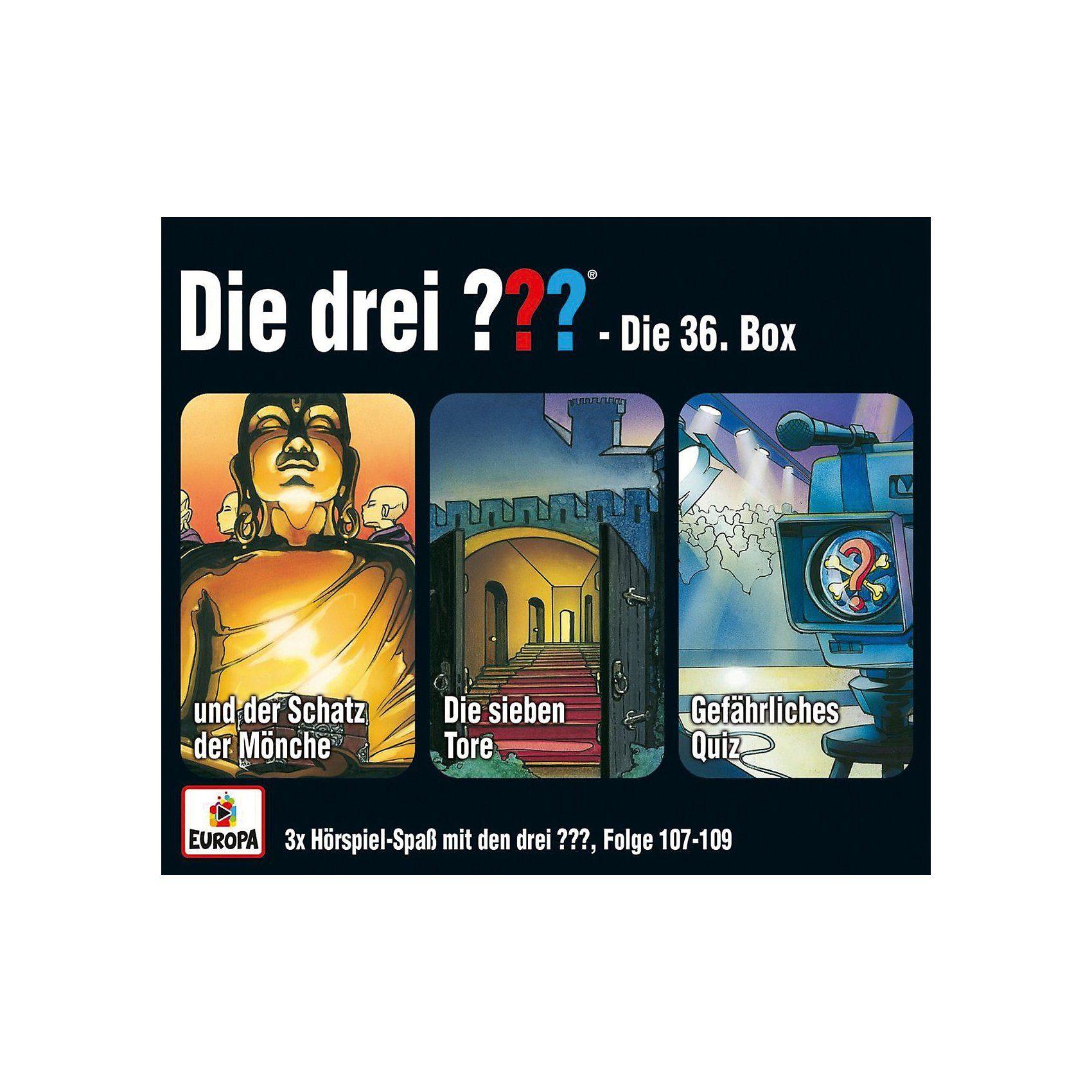 Sony CD Die drei ??? 36 - 3er CD-Box (Folgen 107,108,109)