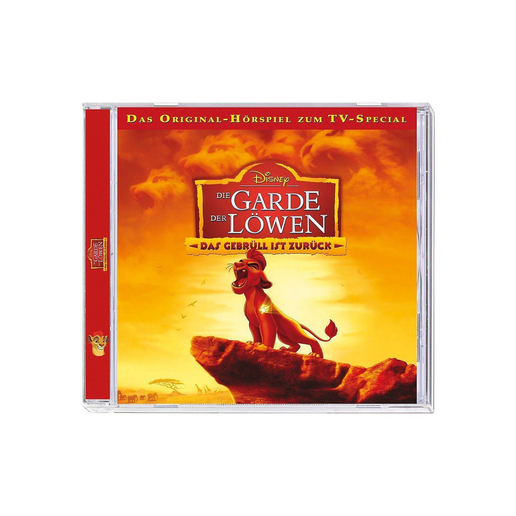 Kiddinx CD Disney Die Garde der Löwen - Das Gebrüll ist zurück