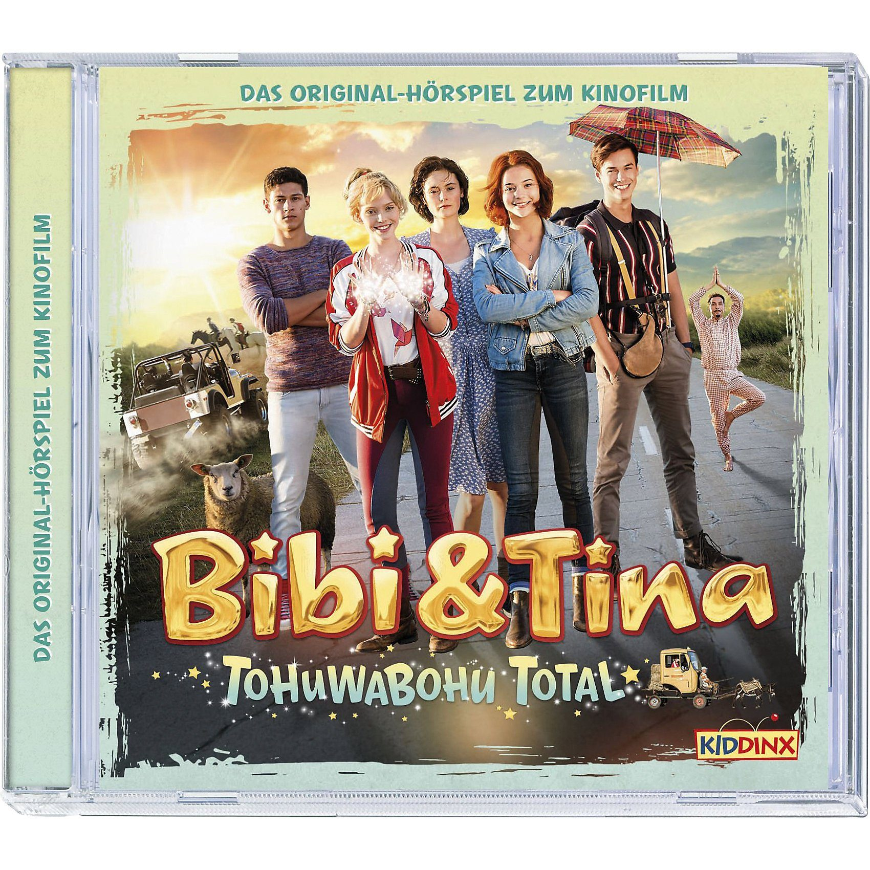 Kiddinx CD Bibi & Tina 4 - Tohuwabohu Total - Original Hörspiel zum