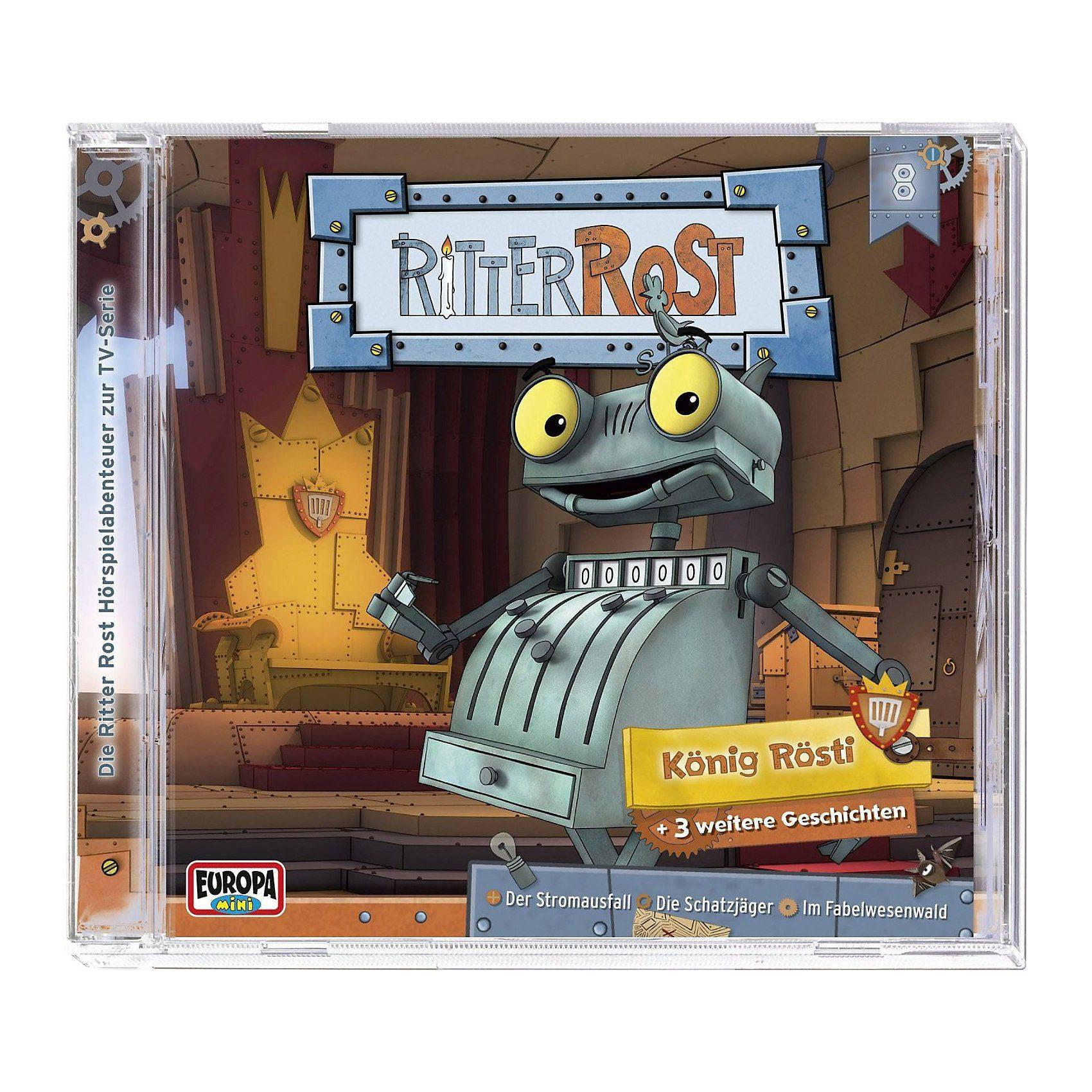 Sony CD Ritter Rost 08 - König Rösti