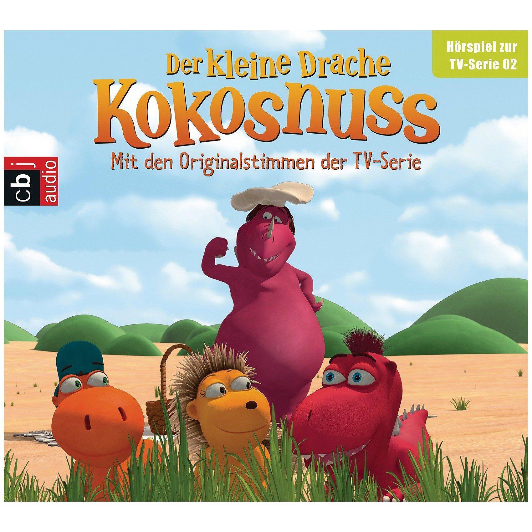 Edel CD Der kleine Drache Kokosnuss 2 (Hörspiel zur TV-Serie)