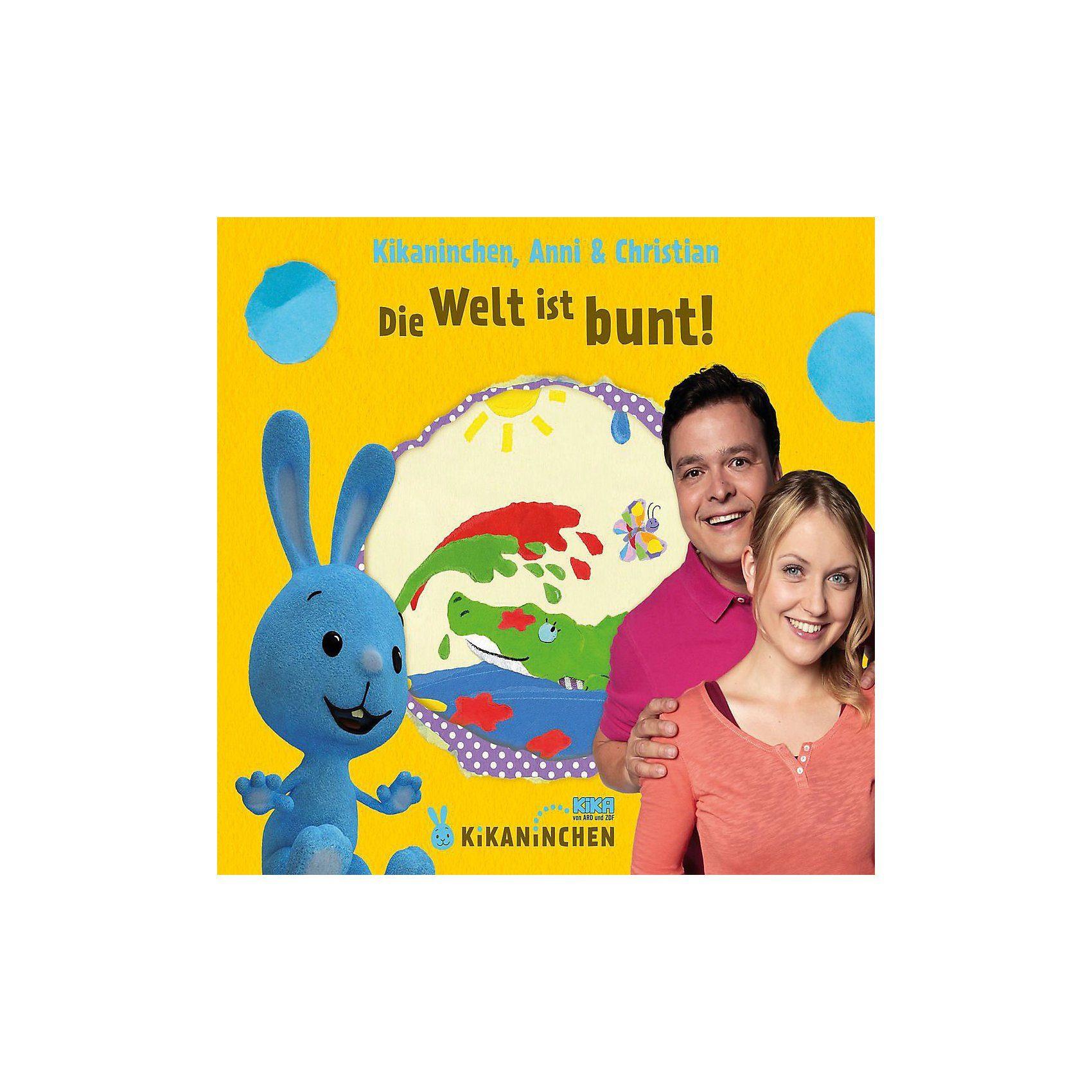 Universal CD Kikaninchen Die Welt ist bunt - Das 3.Album