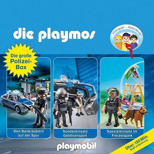Edel CD Die Playmos - Die große Polizei-Box (3 CDs)