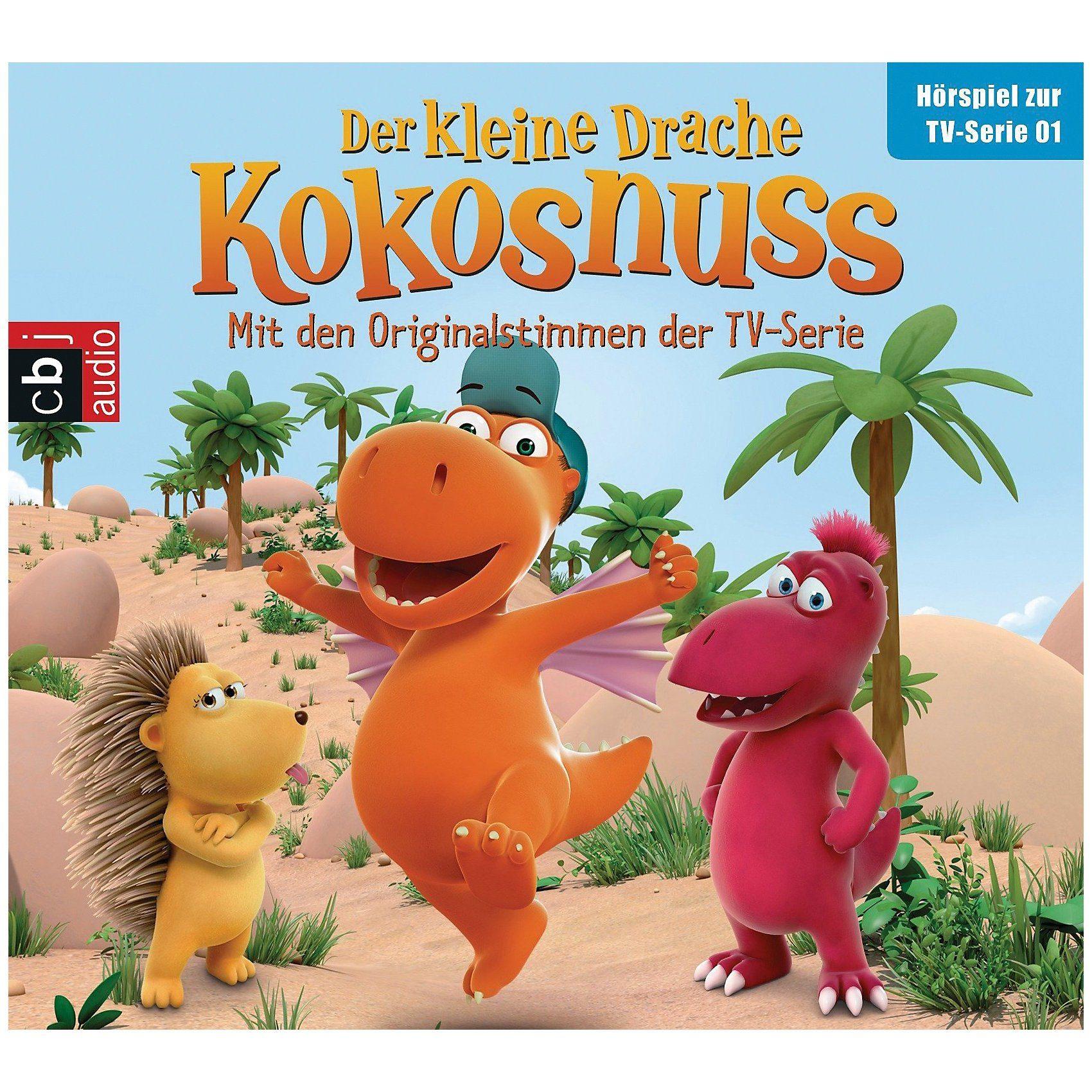 Edel CD Der kleine Drache Kokosnuss 1 (Hörspiel zur TV-Serie)