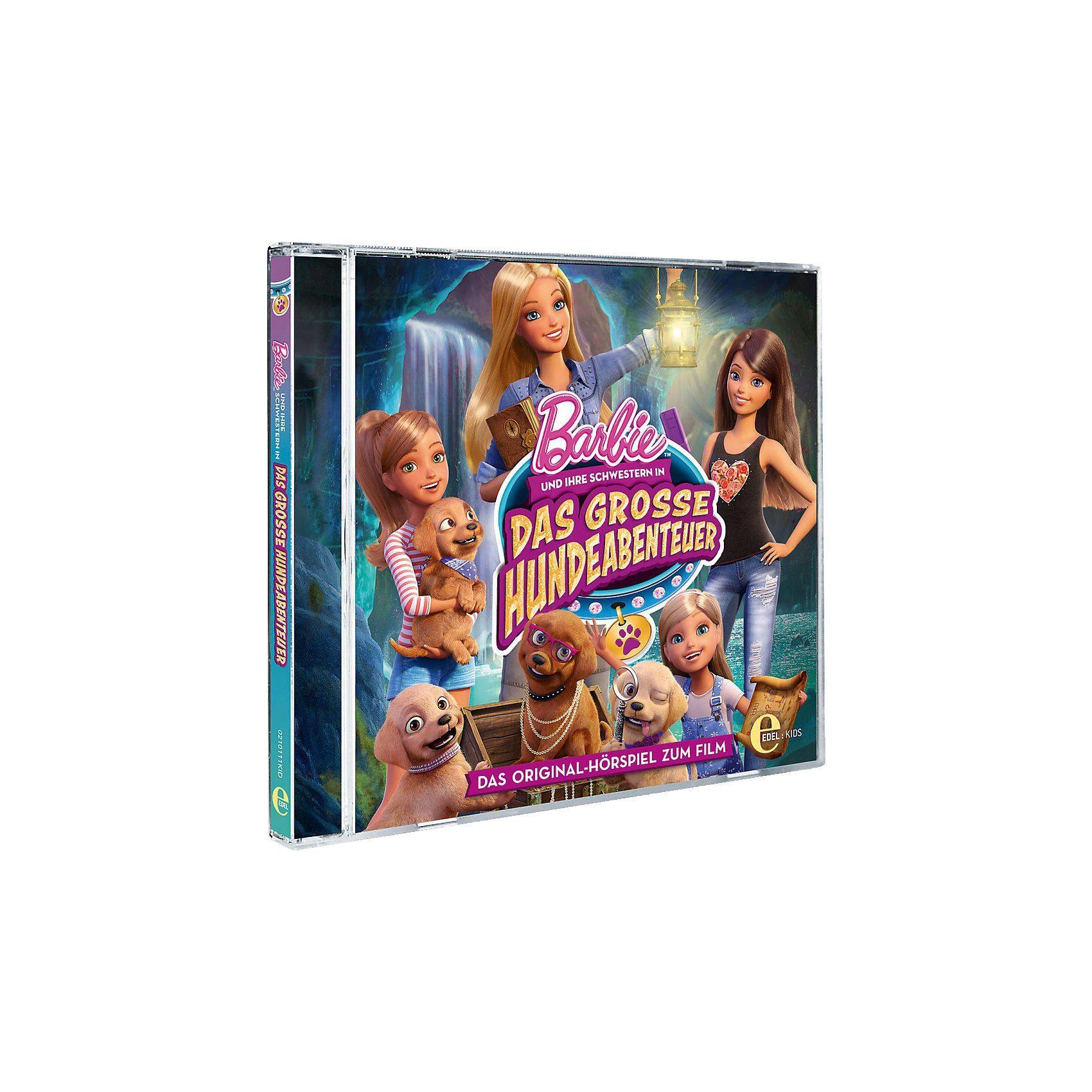 Edel CD Barbie und Schwestern - Das Große Hundeabenteuer (Hörspie