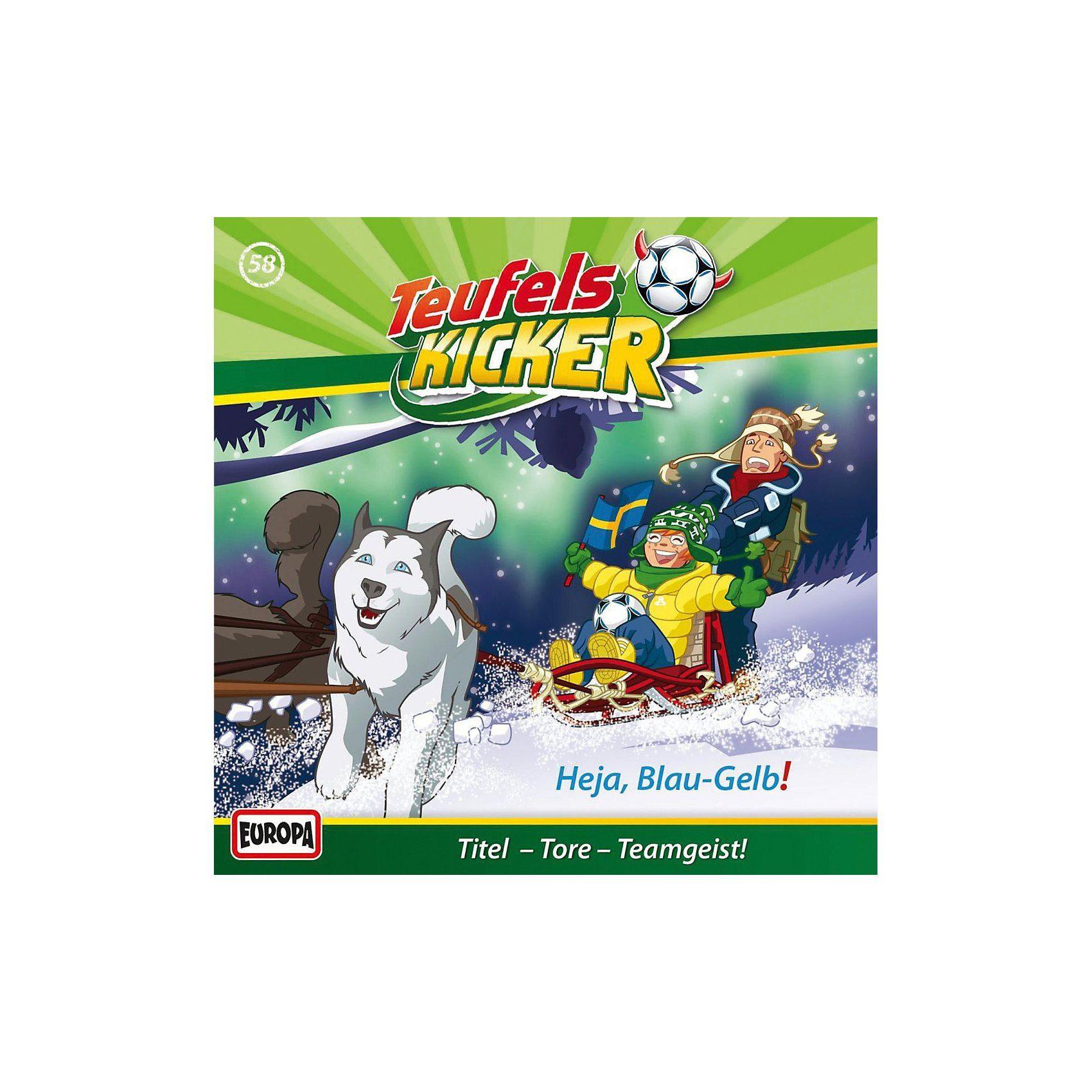 Sony CD Teufelskicker 58 - Heja Blau-Gelb!