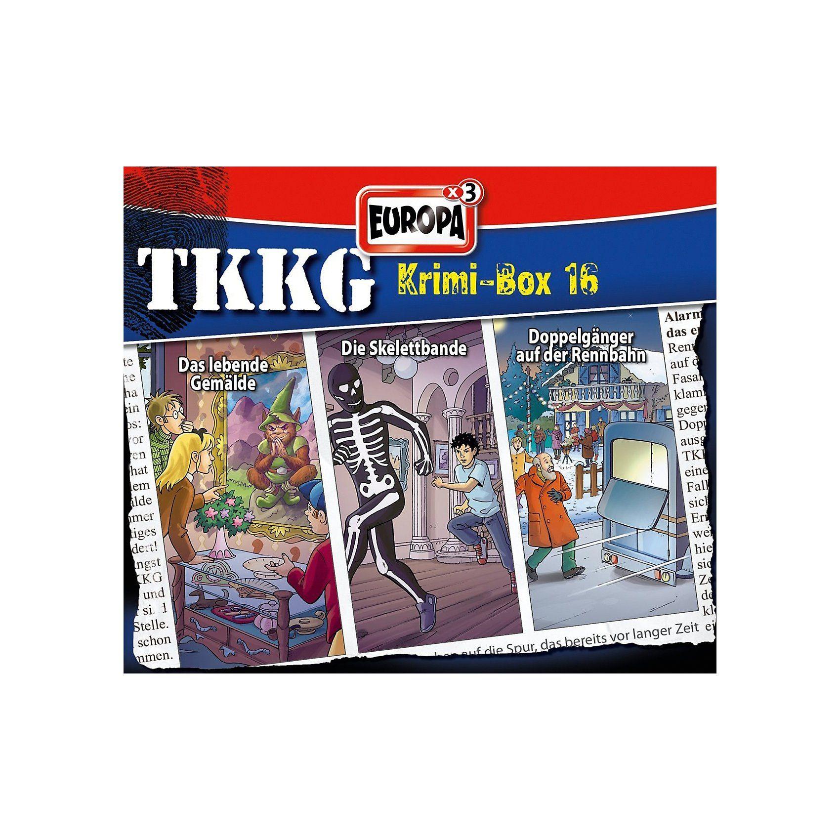 Sony CD TKKG - Krimibox 16 (Folgen 171, 173, 174)