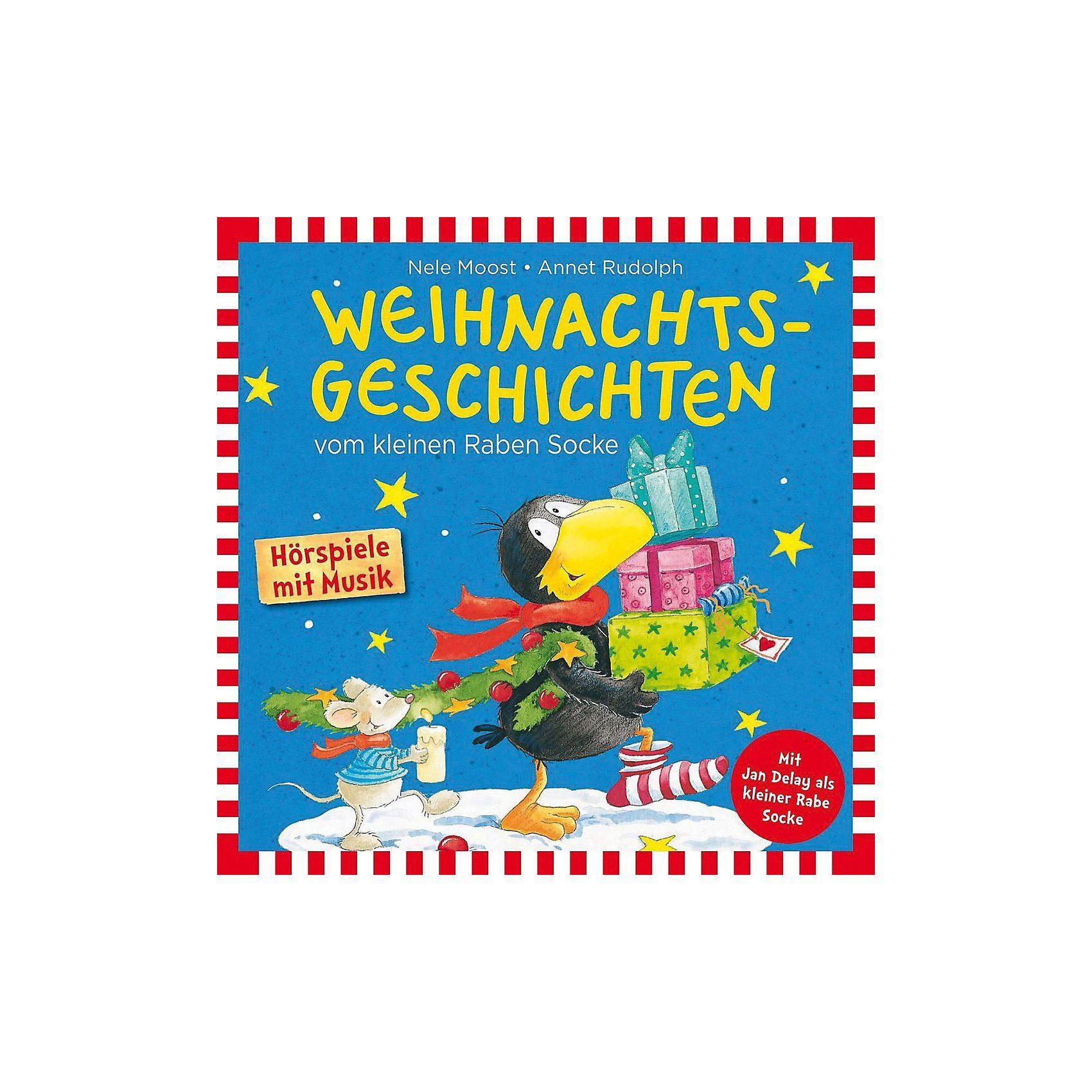 Universal CD Weihnachtsgeschichten vom Kleinen Raben Socke