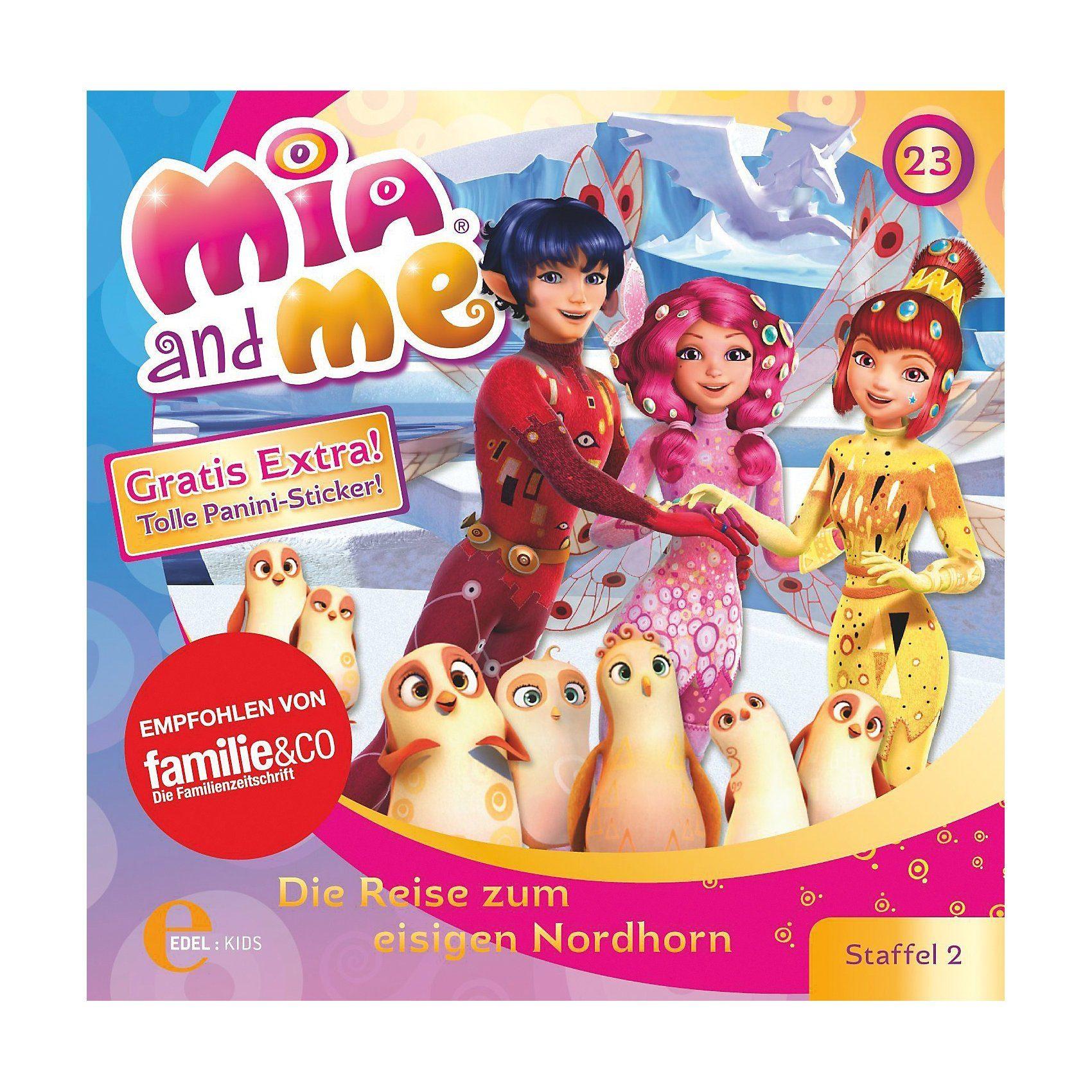 Edel CD Mia and me 24 - Die Reise zum eisigen Nordhorn