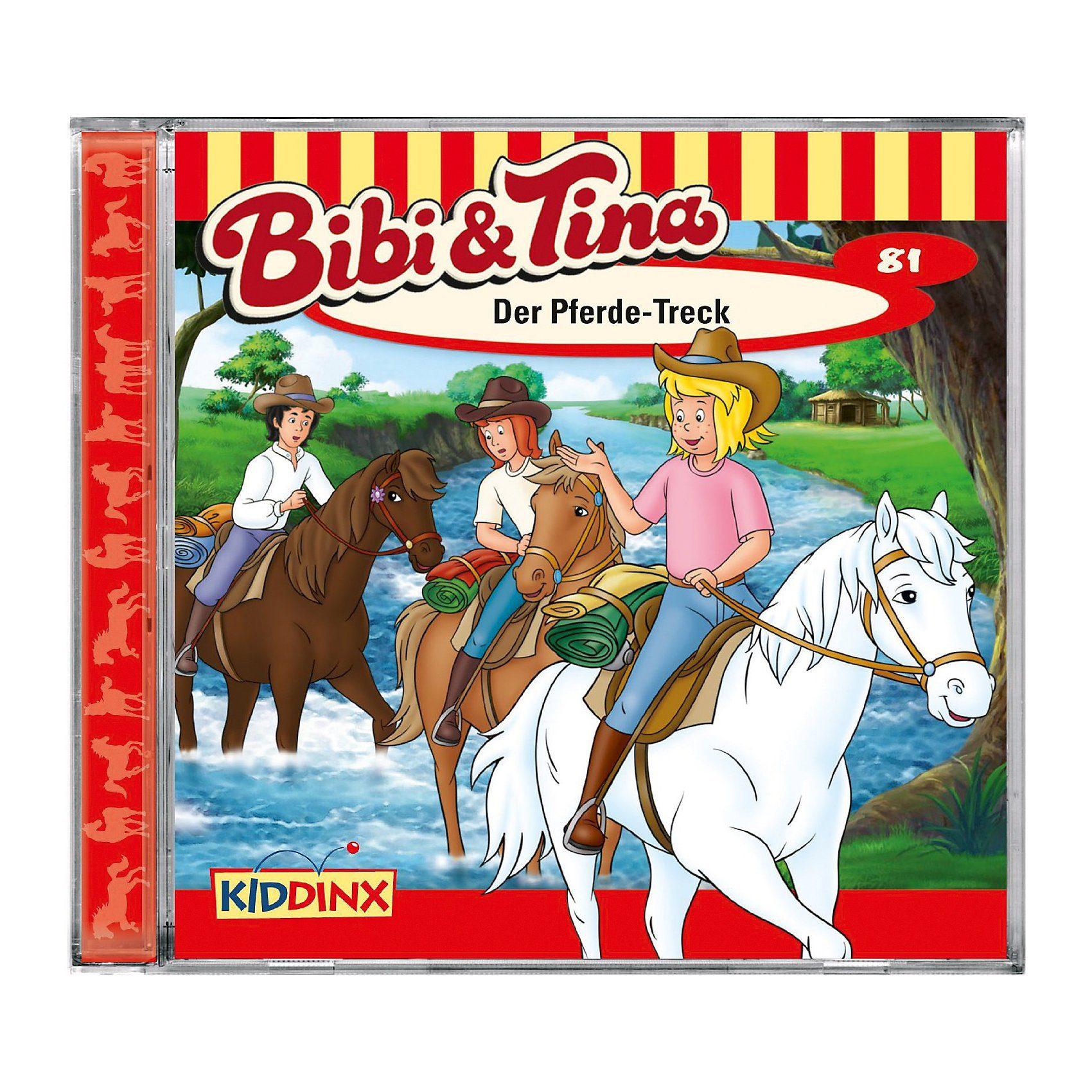 Kiddinx CD Bibi & Tina 81 - Der Pferde-Treck
