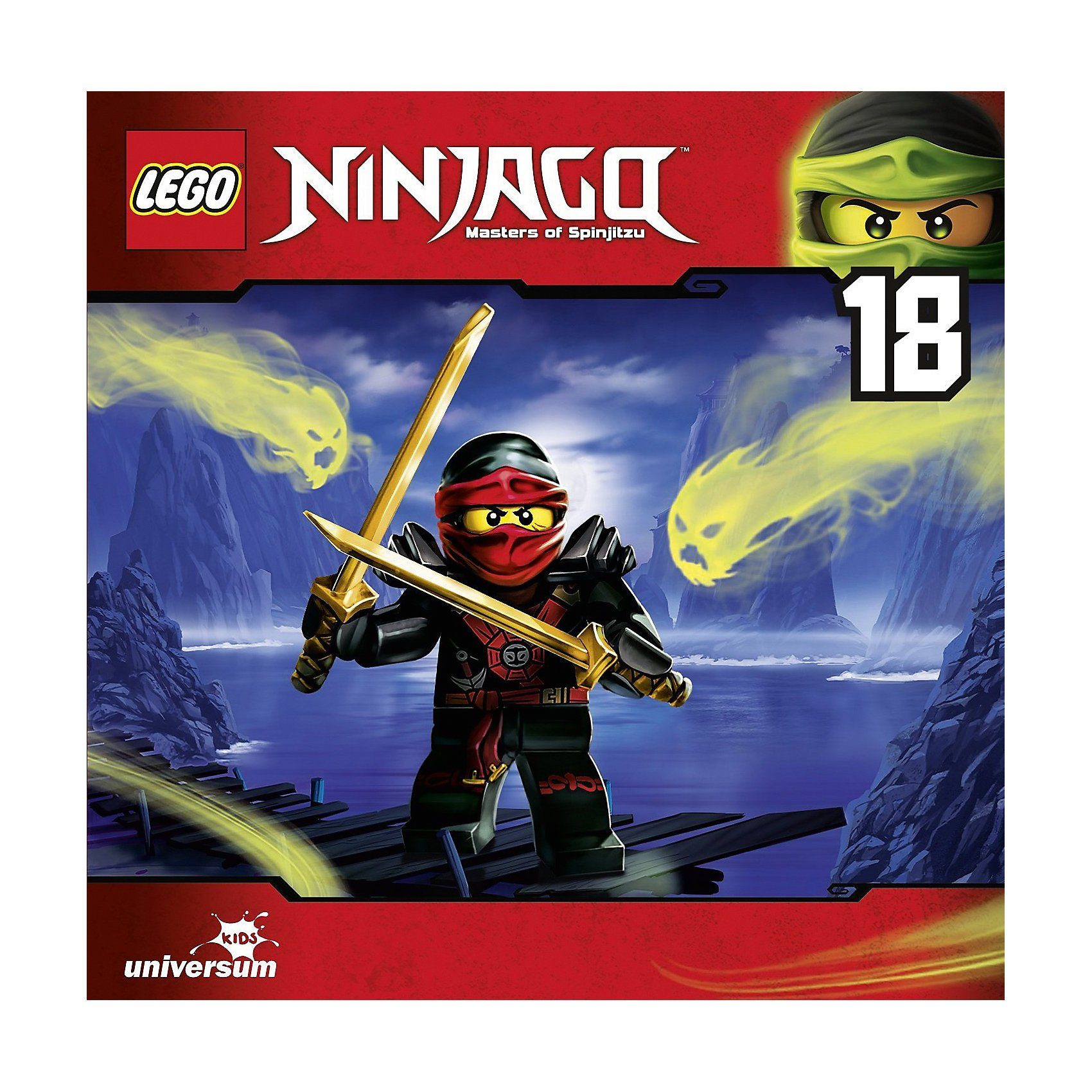 CD Ninjago - Masters of Spinjitzu 18