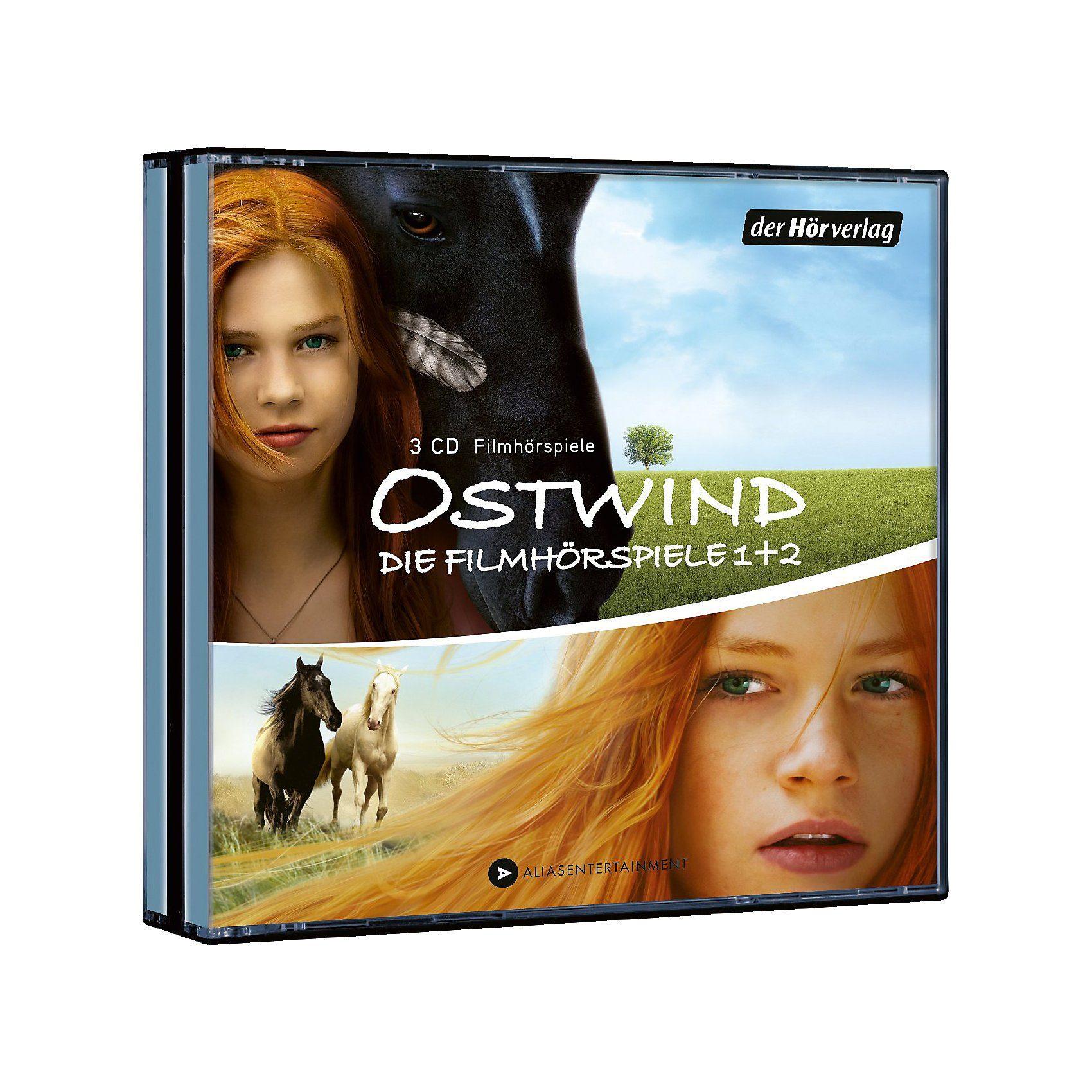 CD Ostwind Filmhörspiele 1 + 2 (3 CDs)