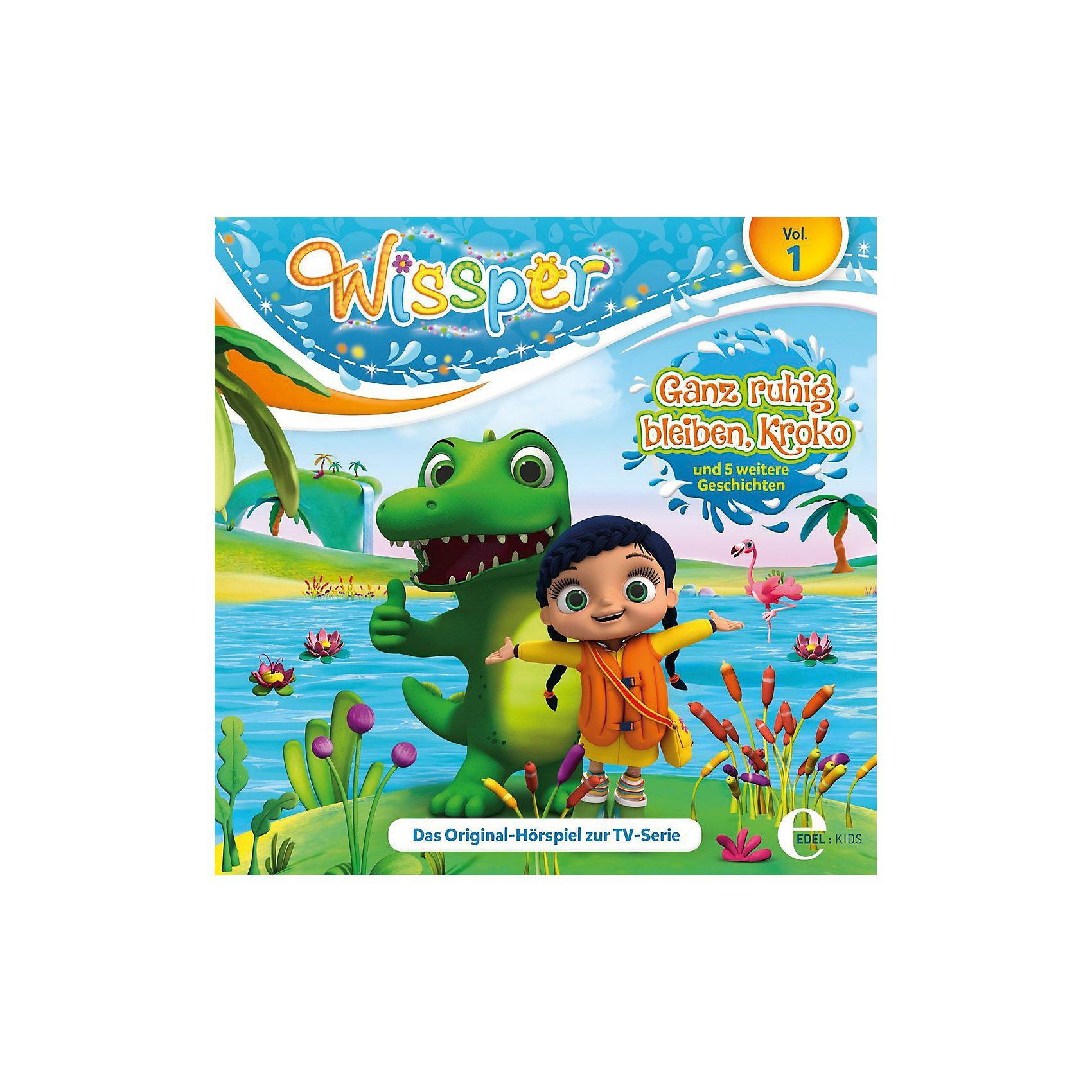 Edel CD Wissper 1 - Ganz Ruhig Bleiben, Kroko