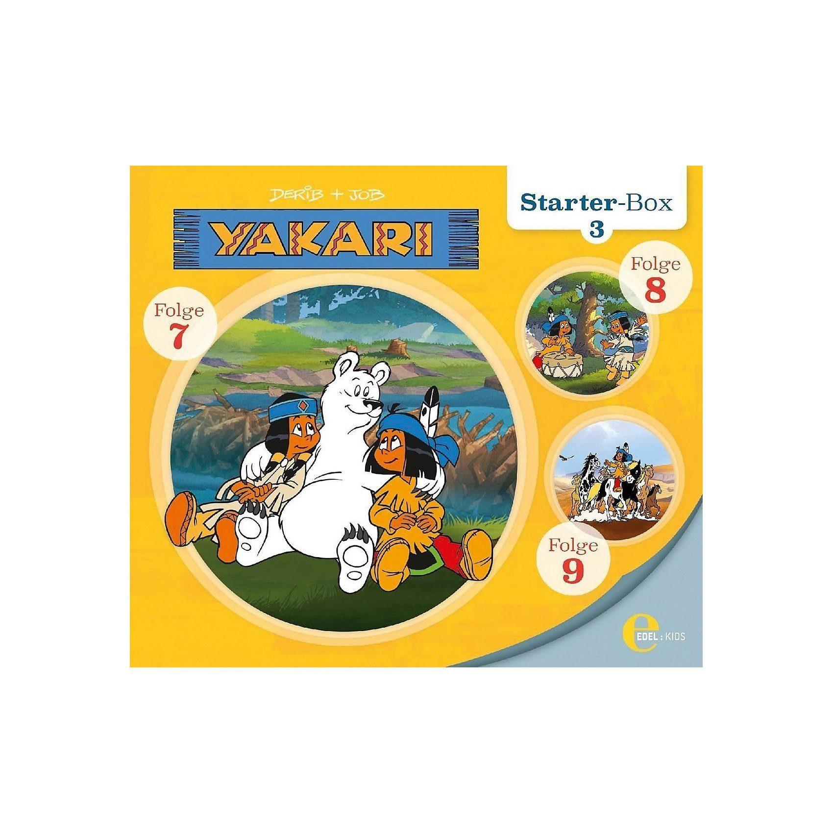 Edel CD Yakari Starter Box 3 (3 CDs)