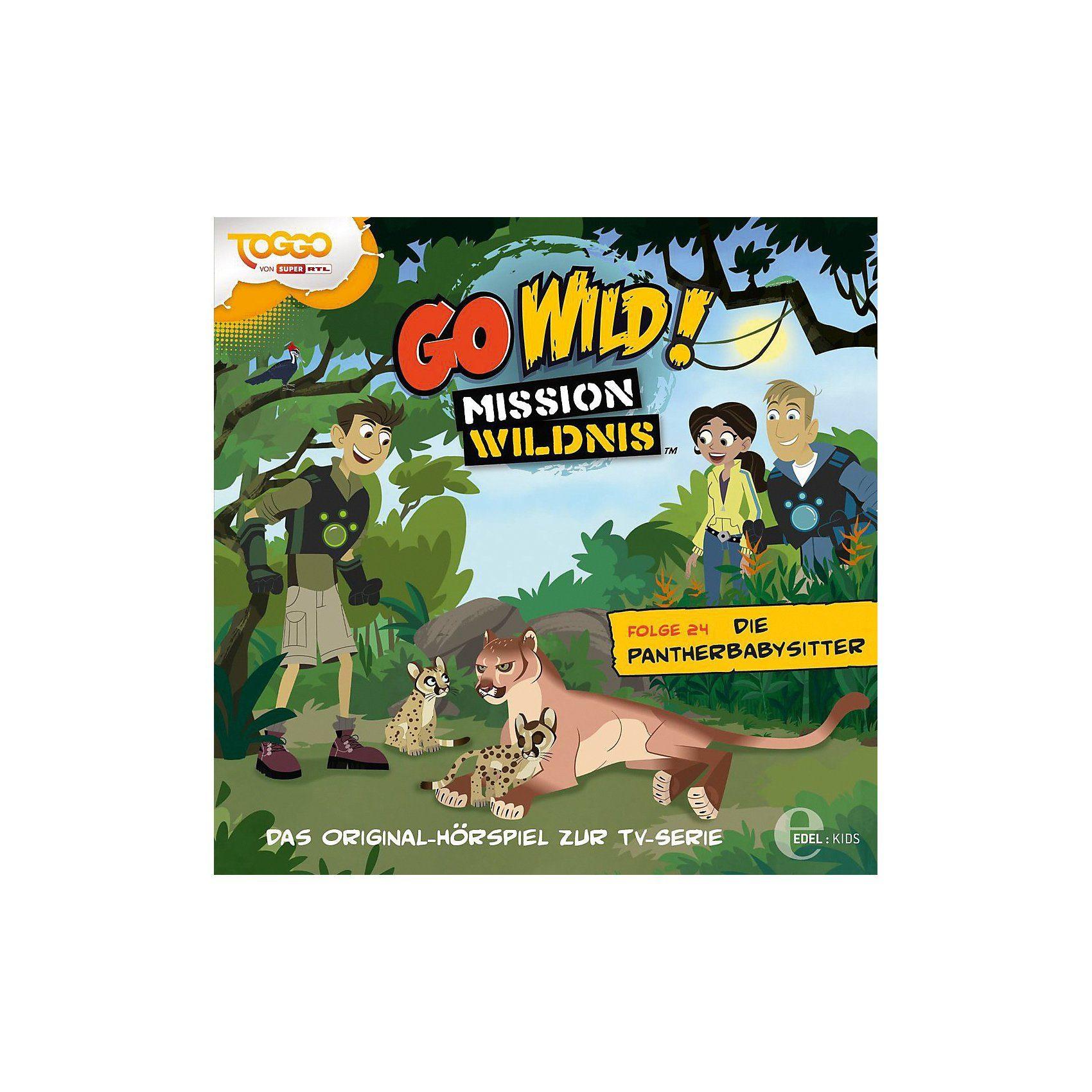 Edel CD Go Wild! Mission Wildnis 24 - Die Pantherbabysitter