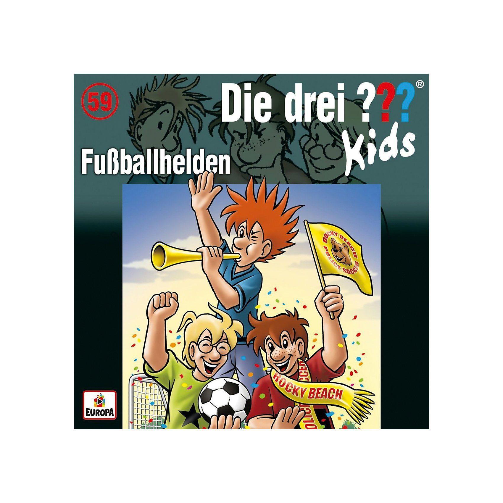 CD Die drei ??? Kids 59 - Fußballhelden