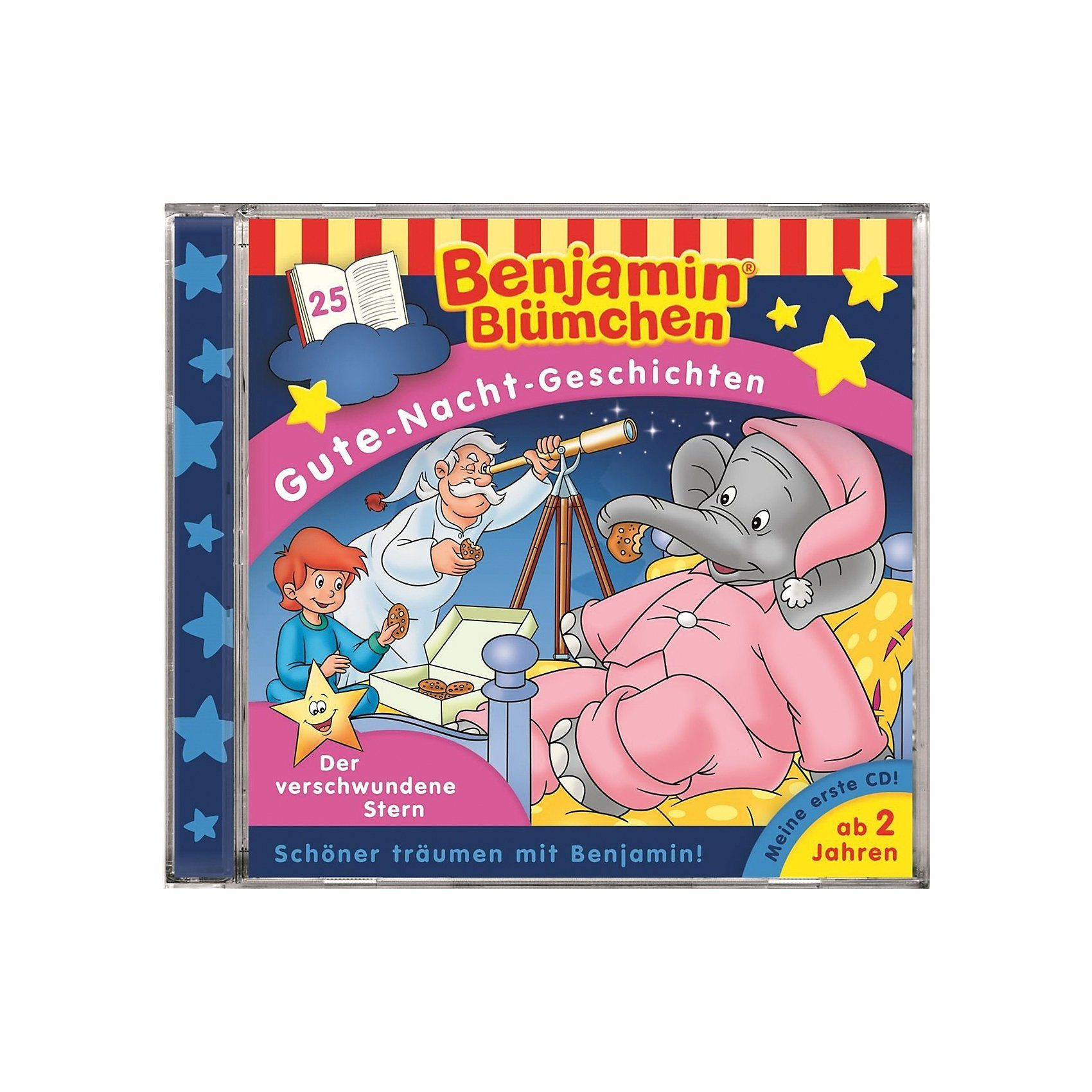 Kiddinx CD Benjamin Blümchen, Gute-Nacht-Geschichten - Der verschwun