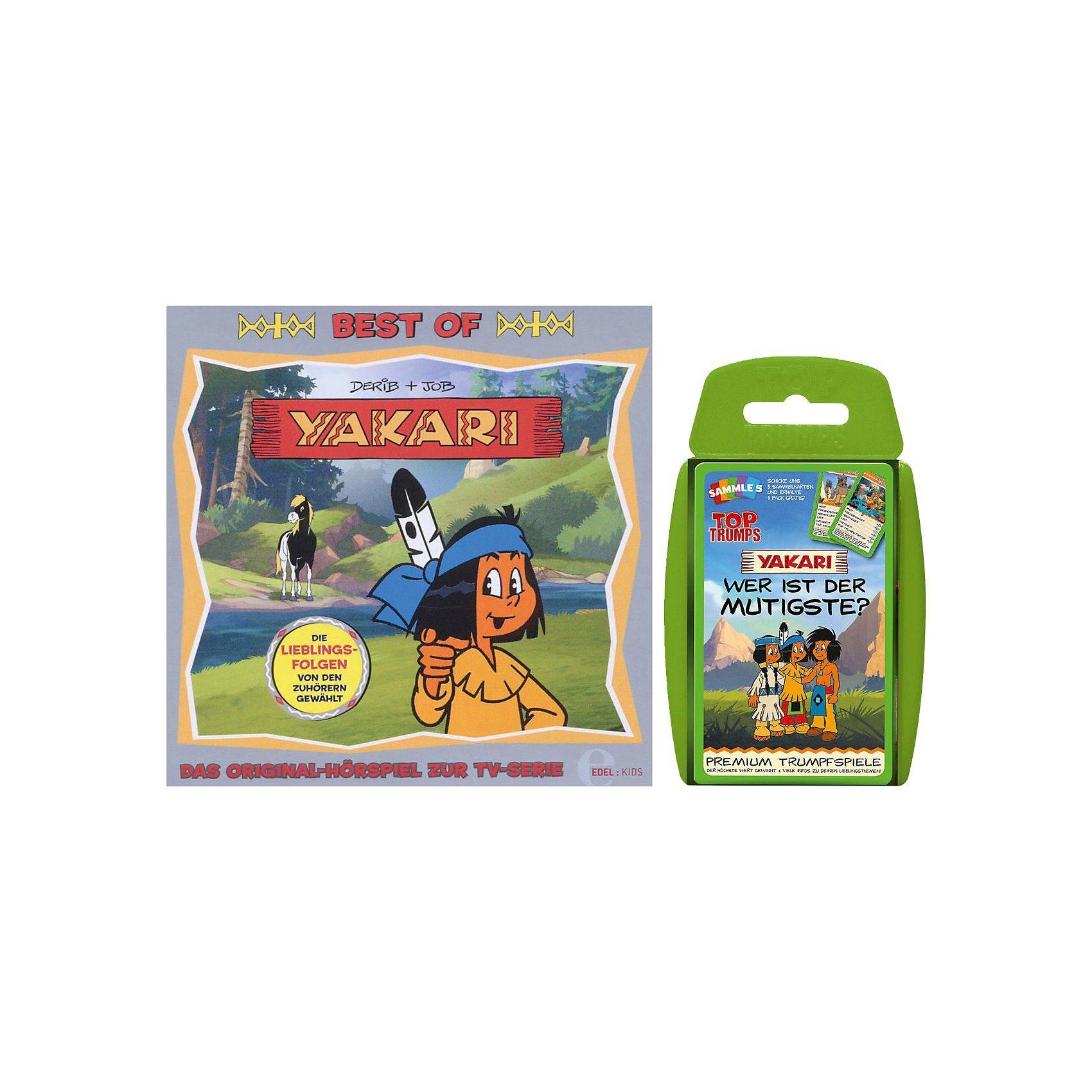 CD Yakari - Best of (+ Kartenspiel)