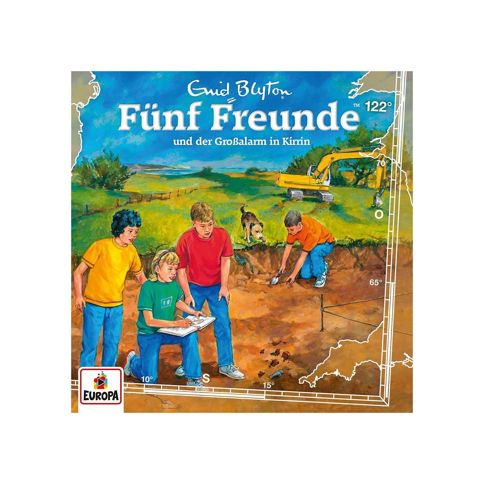 CD Fünf Freunde 122 - und der Großalarm in Kirrin
