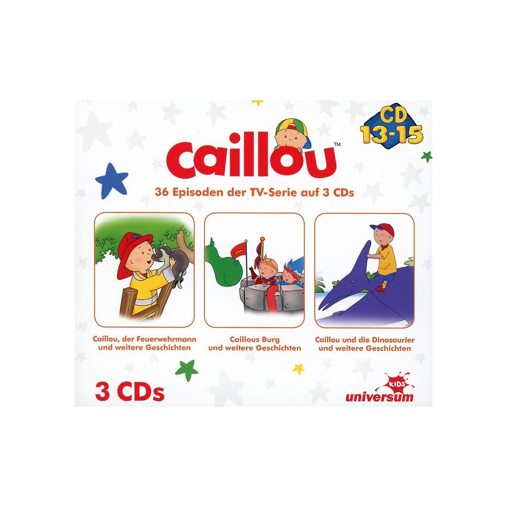CD Caillou Hörspielbox 5 (CD 13-15)(3 CDs)