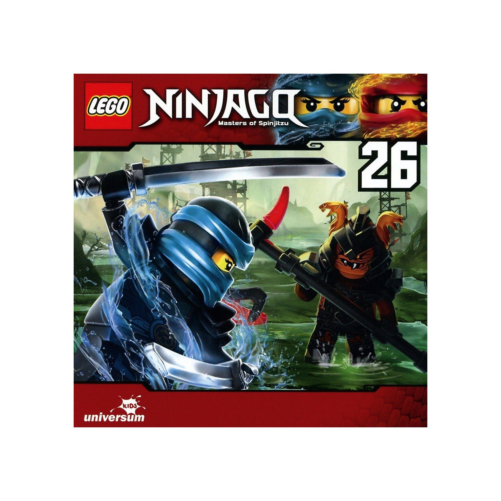 LEGO CD Ninjago Masters of Spinjitzu 26