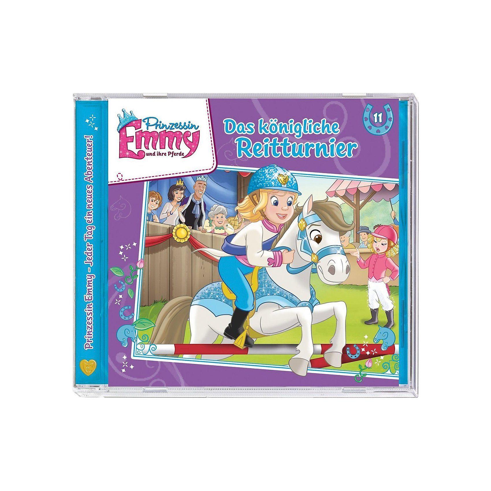 Kiddinx CD Prinzessin Emmy 11 - Das königliche Reitturnier
