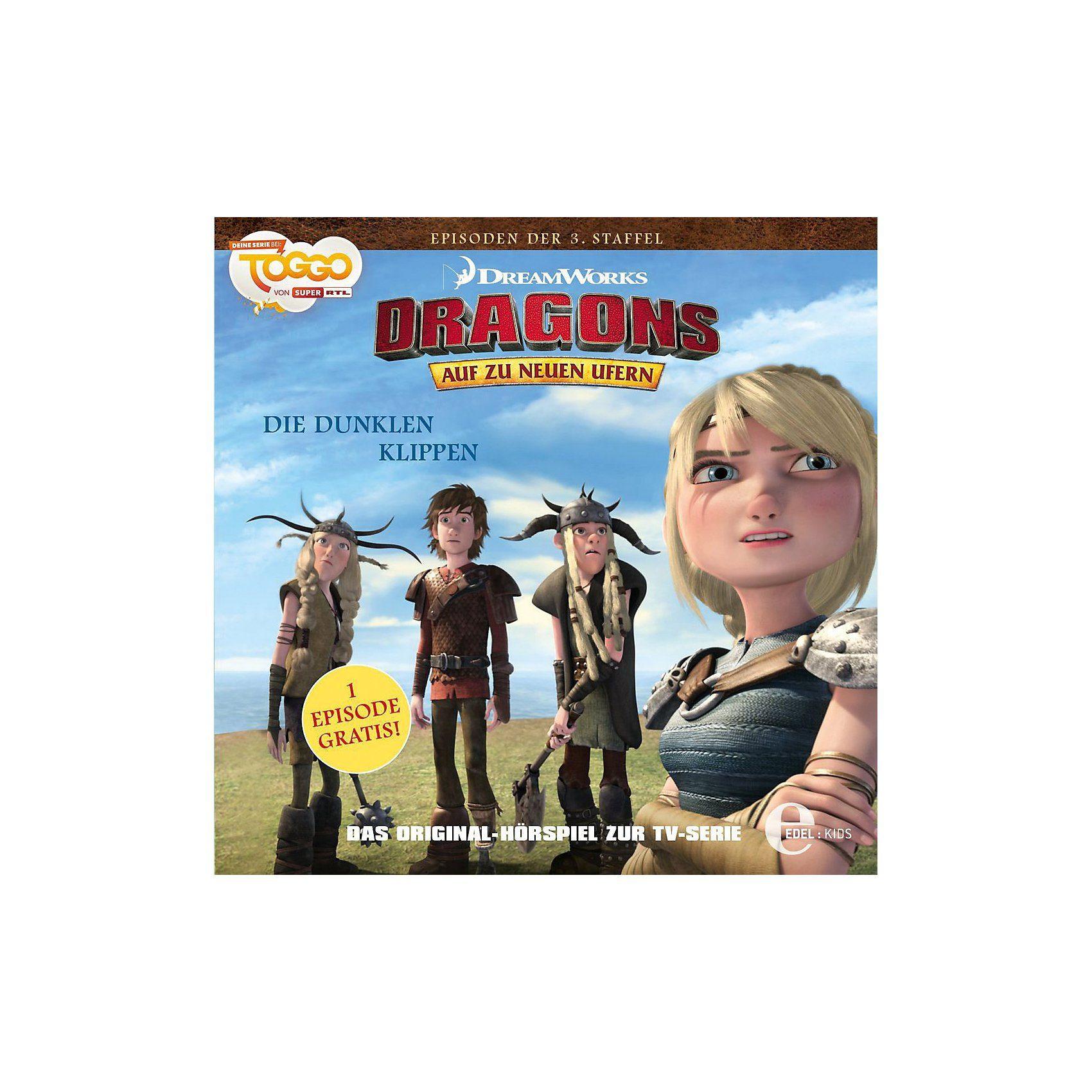 Edel CD Dragons - Auf zu neuen Ufern 25 - Die dunklen Klippen
