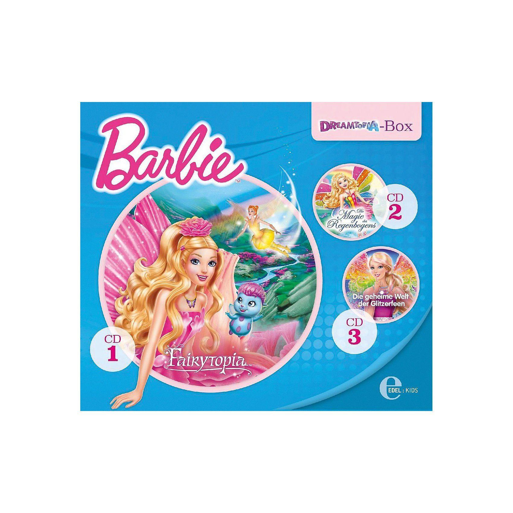Edel CD Barbie - Dreamtopia-Box, 3 Audio-CD