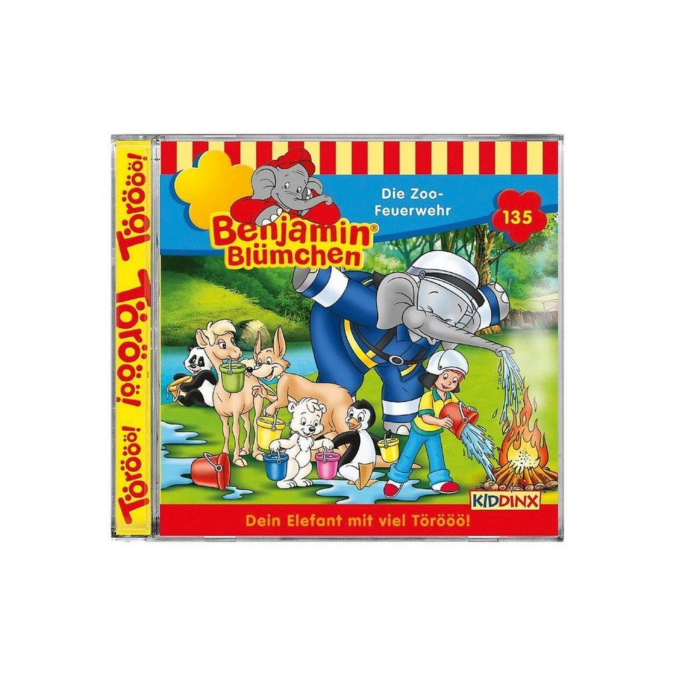 Kiddinx CD Benjamin Blümchen 135 - Die Zoo-Feuerwehr online kaufen