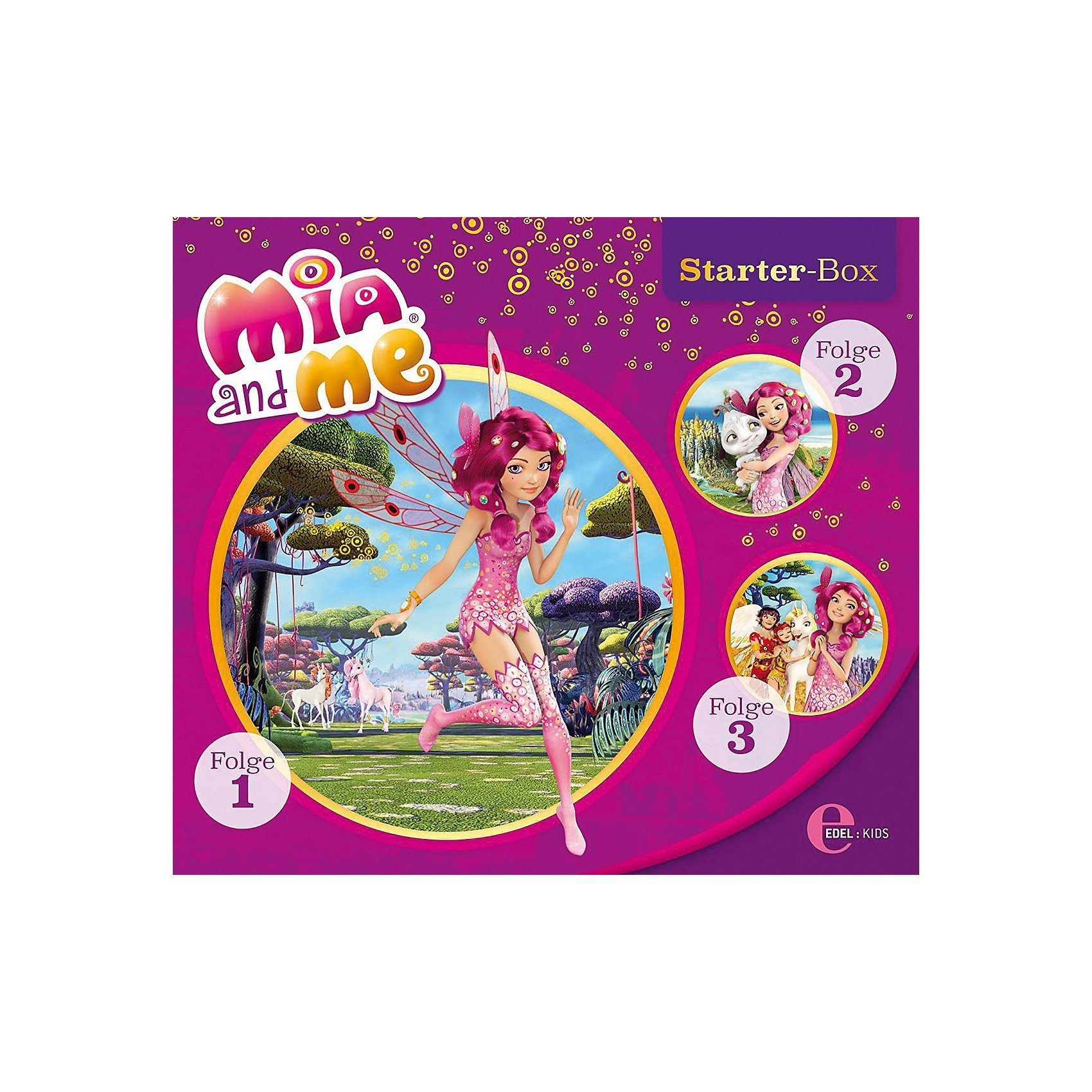 Edel CD Mia and Me - Starter-Box (Folge 1-3)