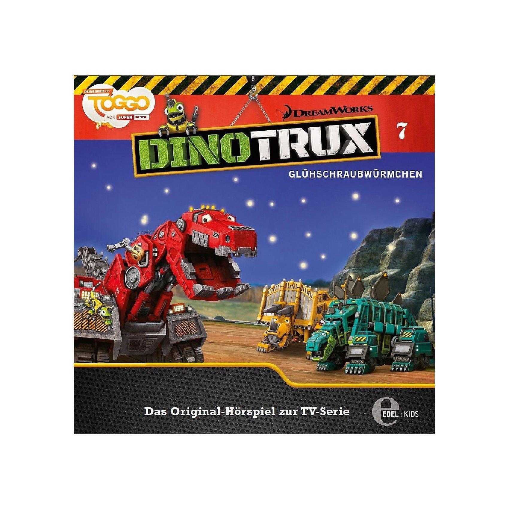 CD Dinotrux 7 - Glühschraubwürmchen / Rollodons