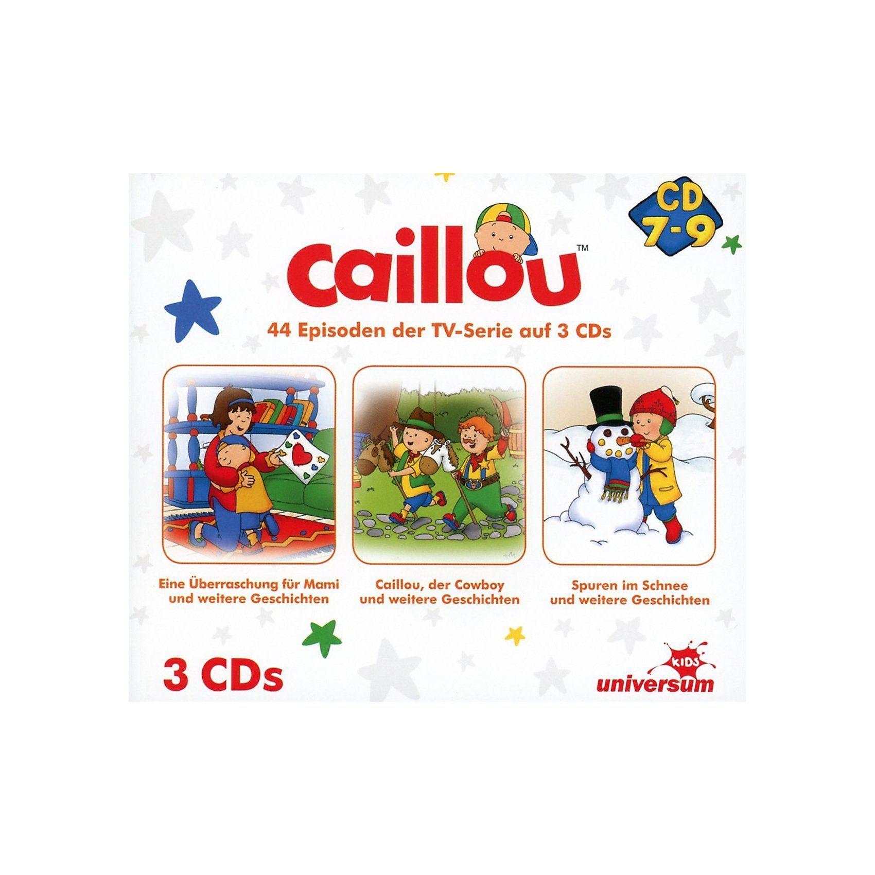 CD Caillou Hörspielbox 3 (CD 7-9)(3 CDs)