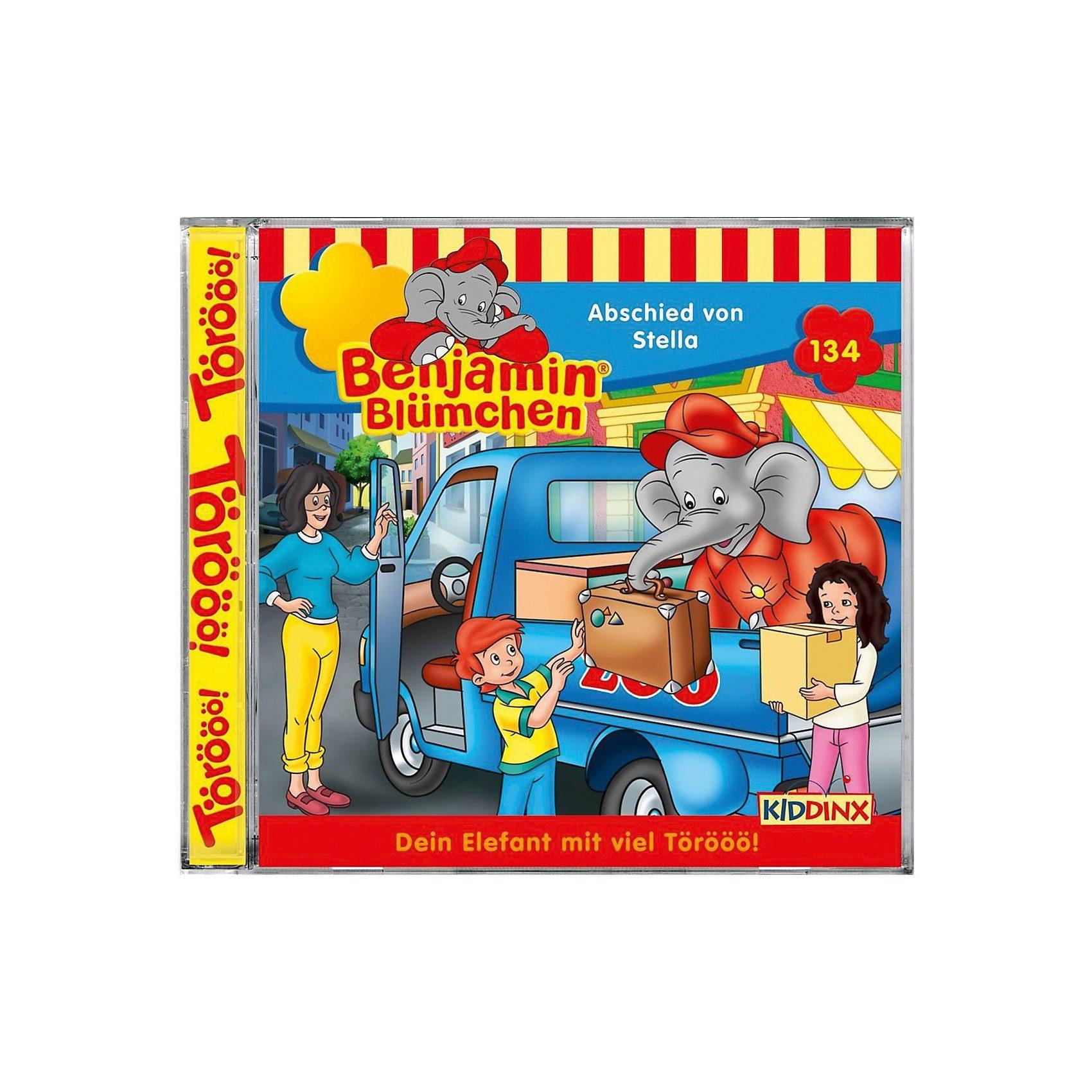 Kiddinx CD Benjamin Blümchen 134 - Abschied von Stella