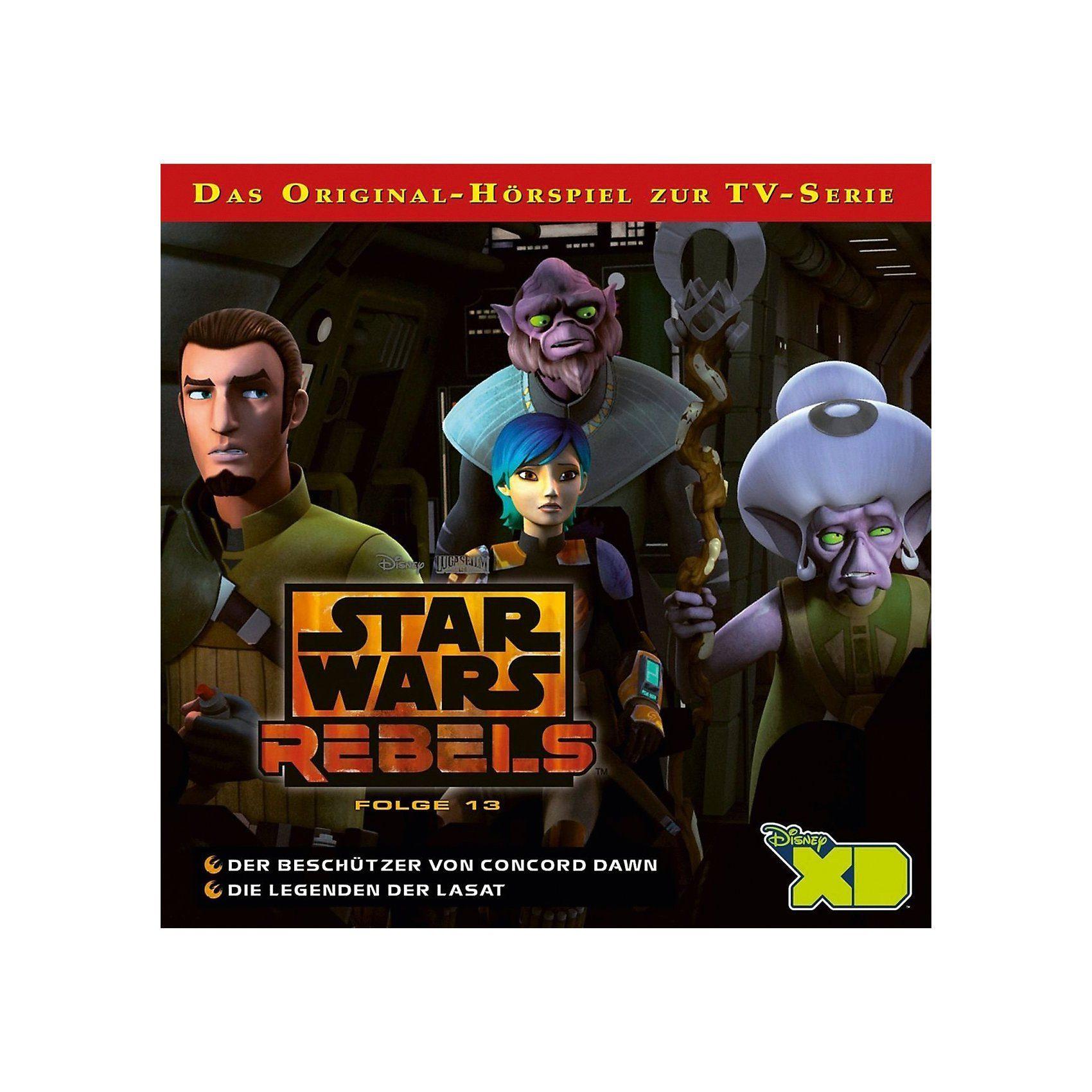 CD Star Wars Rebels - Der Beschützer von Concord Dawn / Die