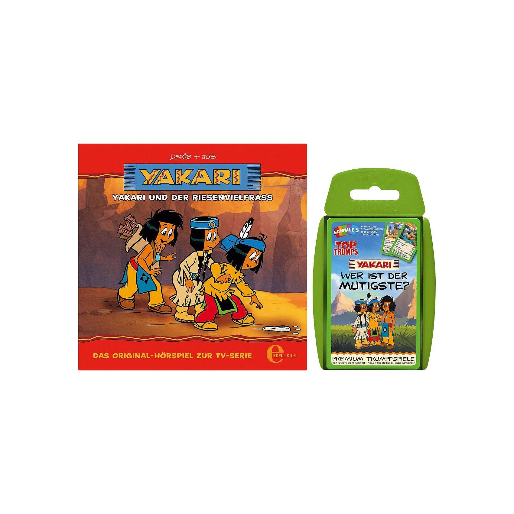 CD Yakari 13 - Yakari und der Riesenvielfraß (Kartenspiel)