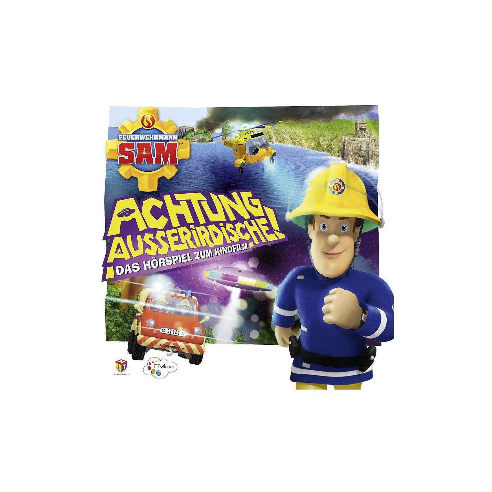 Just Bridge Entertainment CD Feuerwehrmann Sam - Achtung Außerirdische - Das Hörspiel