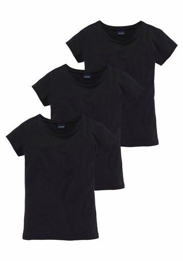 Arizona T-Shirt (Packung, 3-tlg) in schmaler Basicform