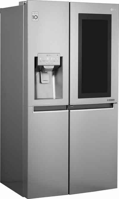 LG Side-by-Side GSX961NEAZ, 179 cm hoch, 91,2 cm breit, InstaView Door-in-Door?