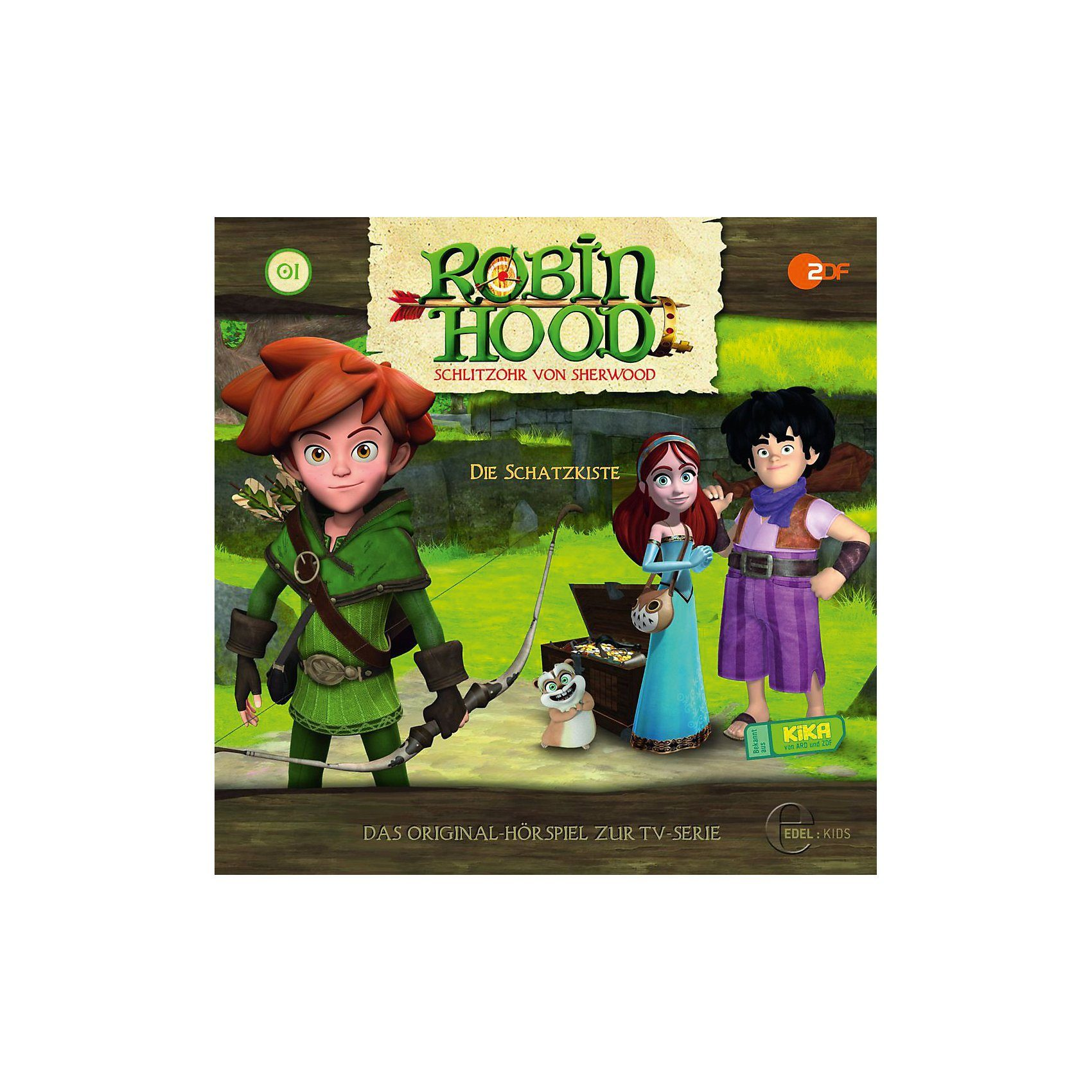 Edel CD Robin Hood 01 - Die Schatzkiste