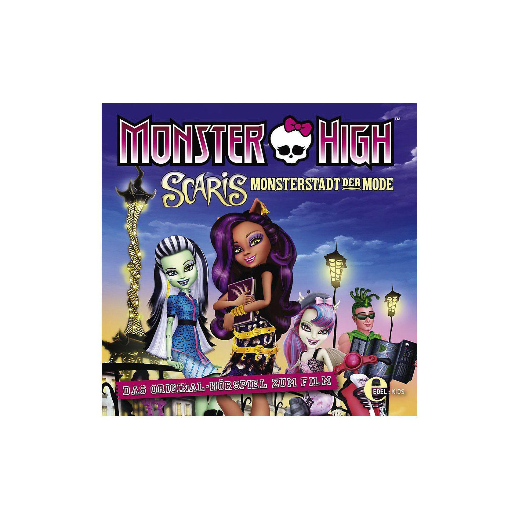 Edel CD Monster High - Scaris: Monsterstadt der Mode (Hörspiel zu