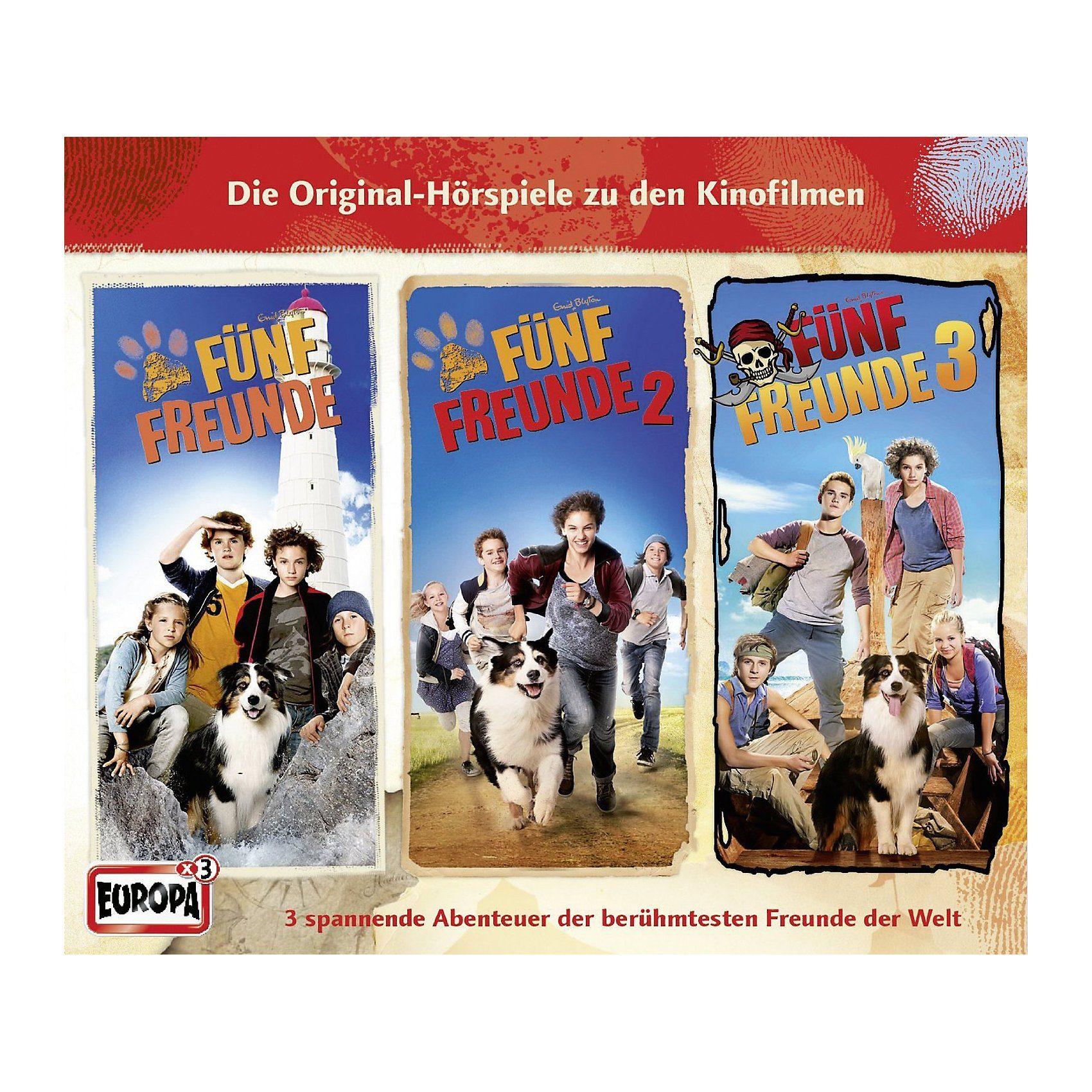 Sony CD Fünf Freunde - Filmhörspiele 1-3