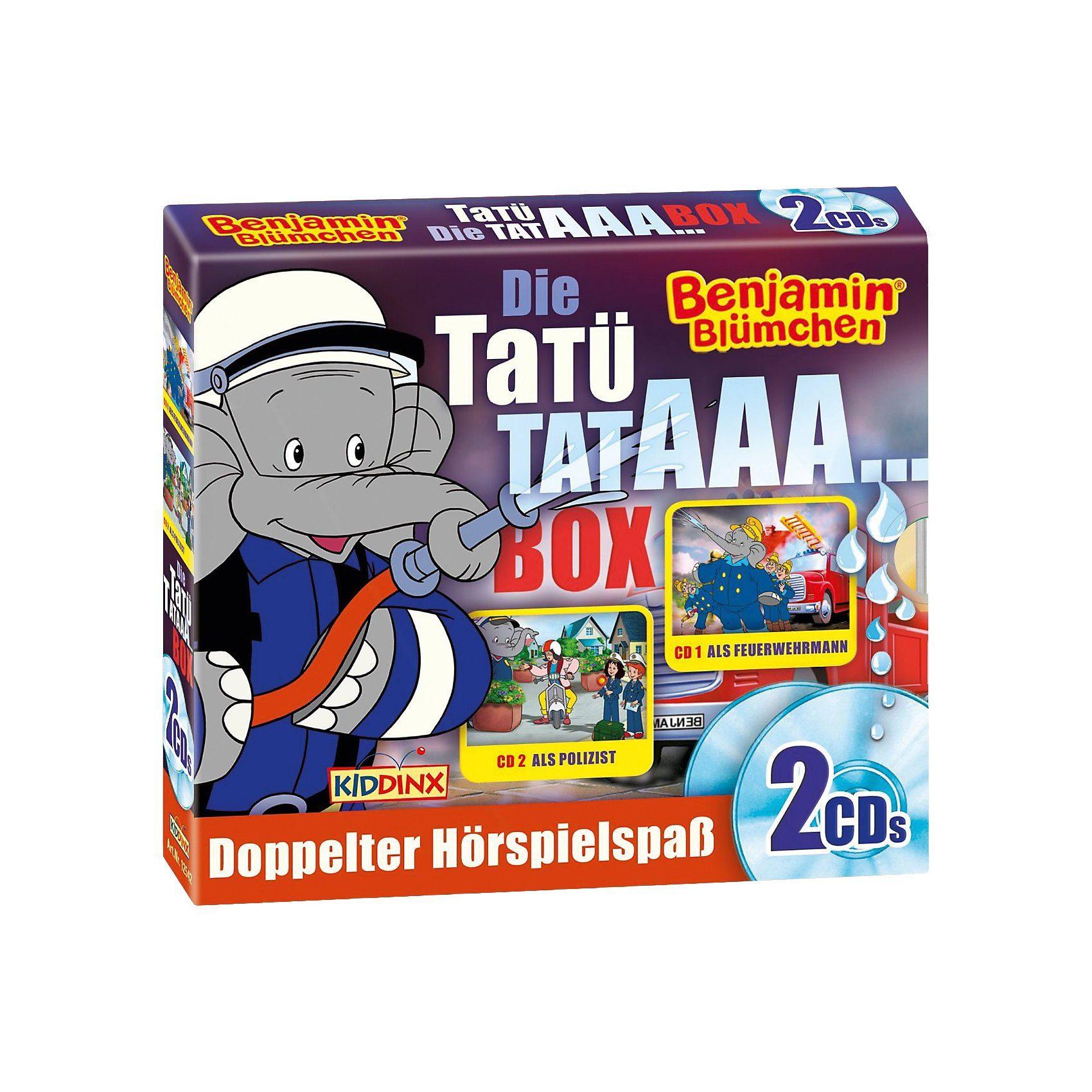 Kiddinx CD Benjamin Blümchen - Die Tatü Tataaa Box
