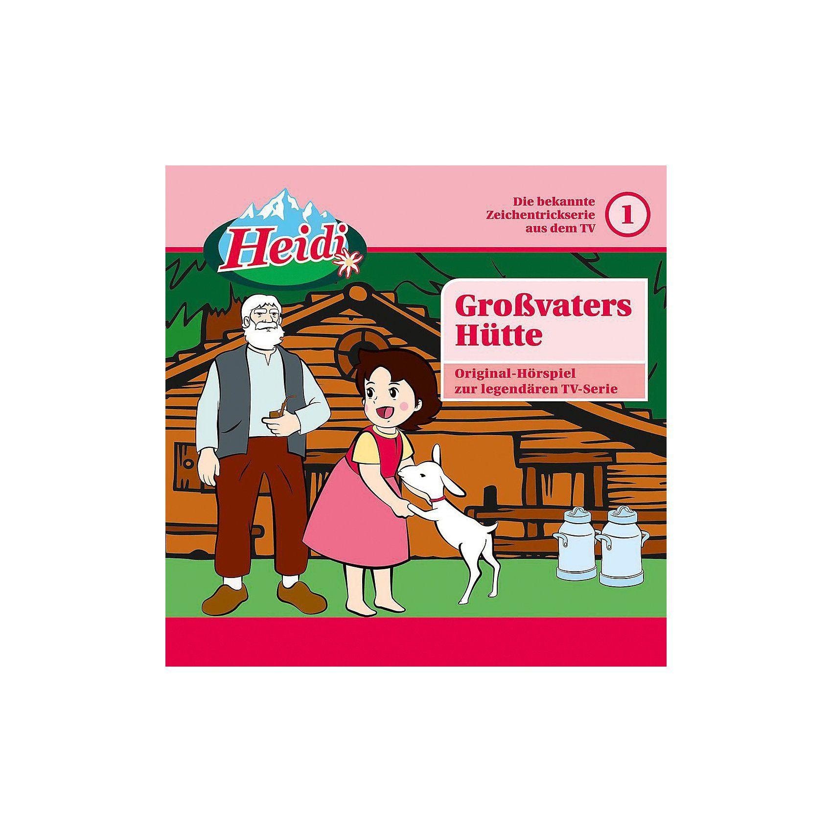 Universal CD Heidi 01 - Großvaters Hütte