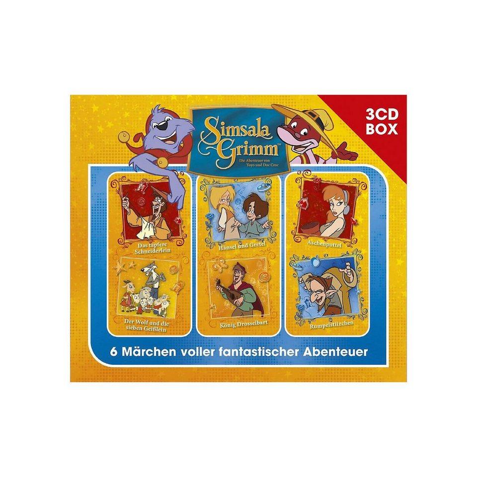 Universal CD SimsalaGrimm - 3CD Hörspielbox Vol.2